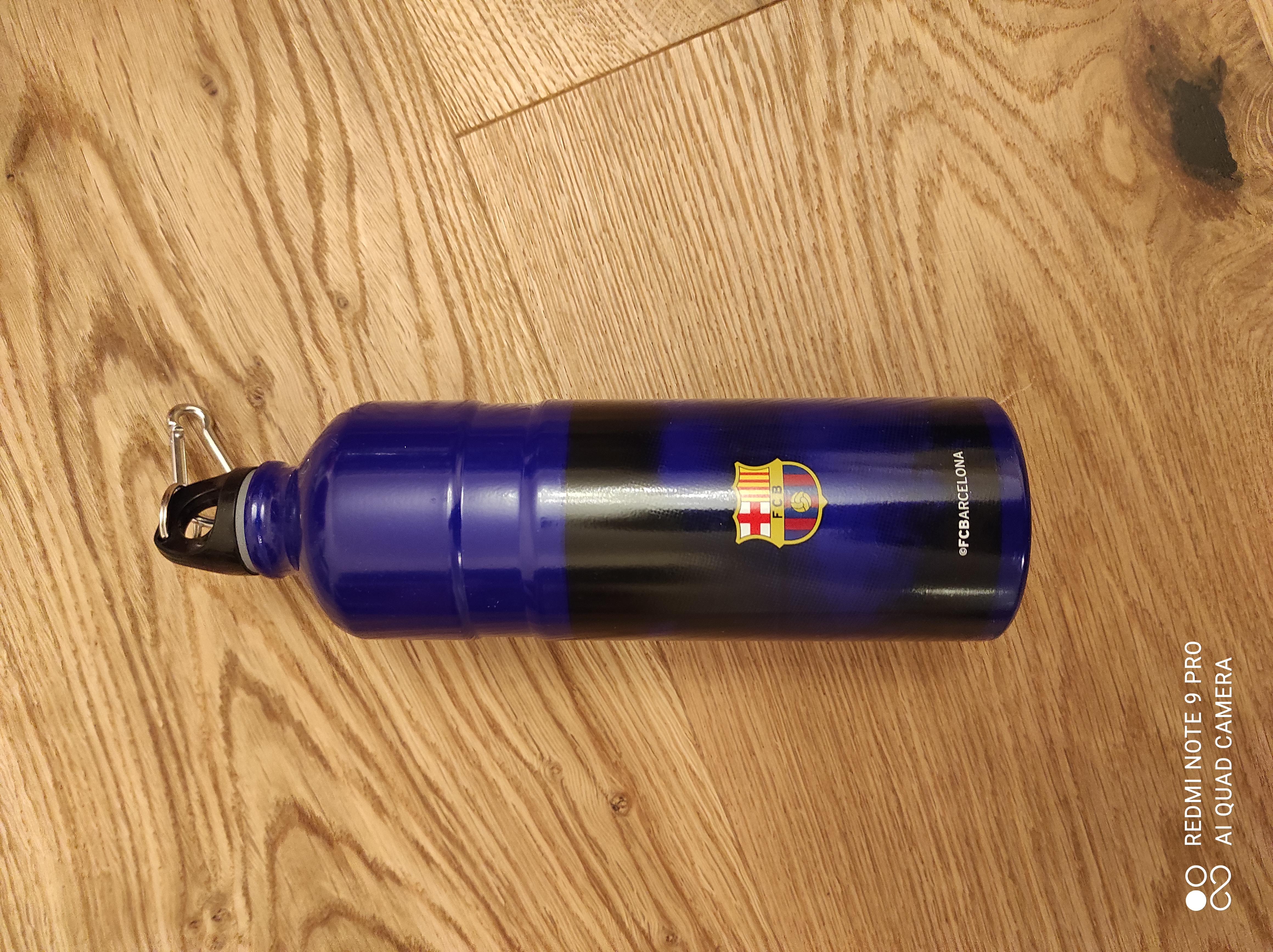 Trinkflasche FC Barcelona tauschen