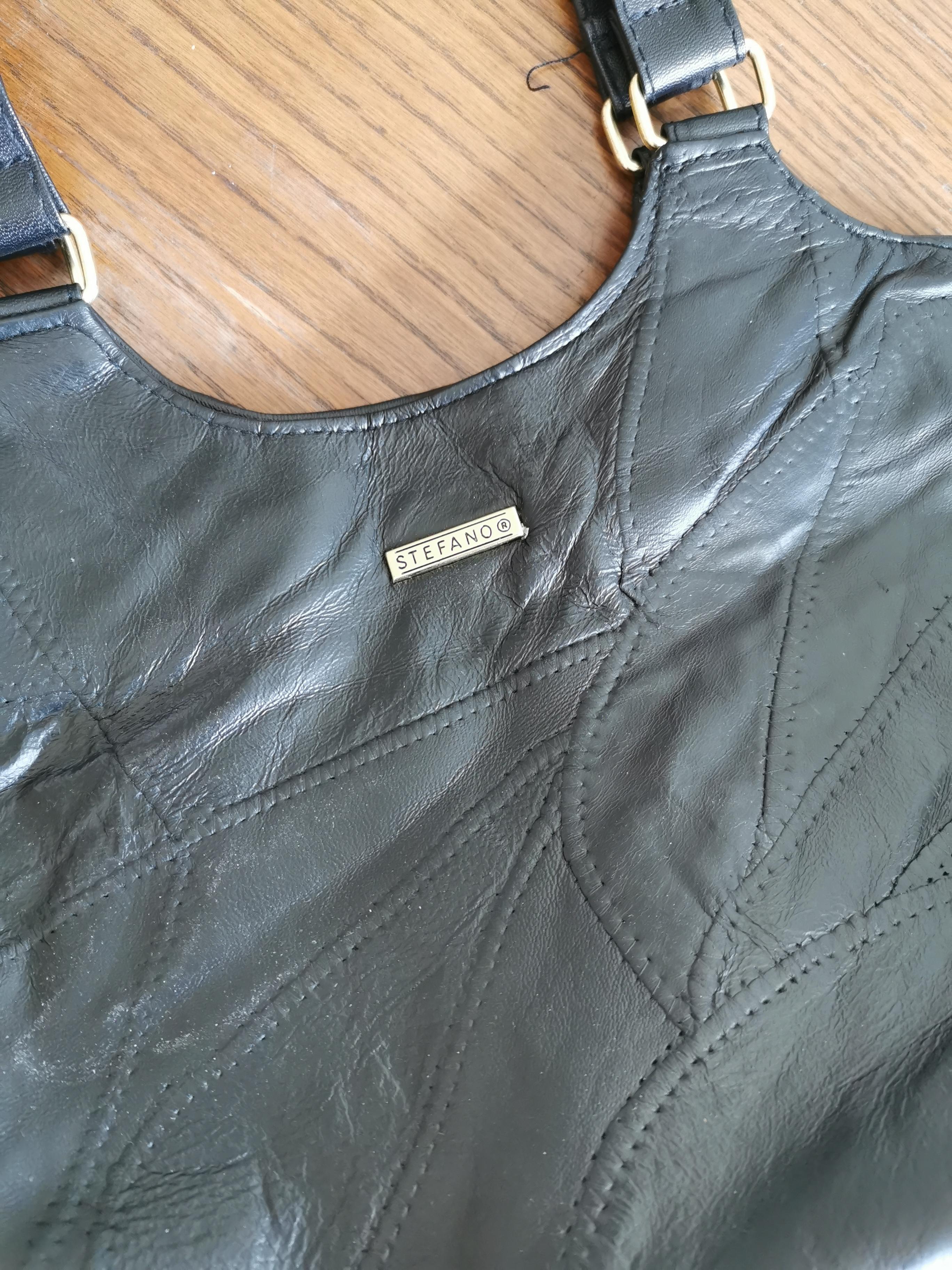 Damen-Handtasche schwarz Leder kostenlos