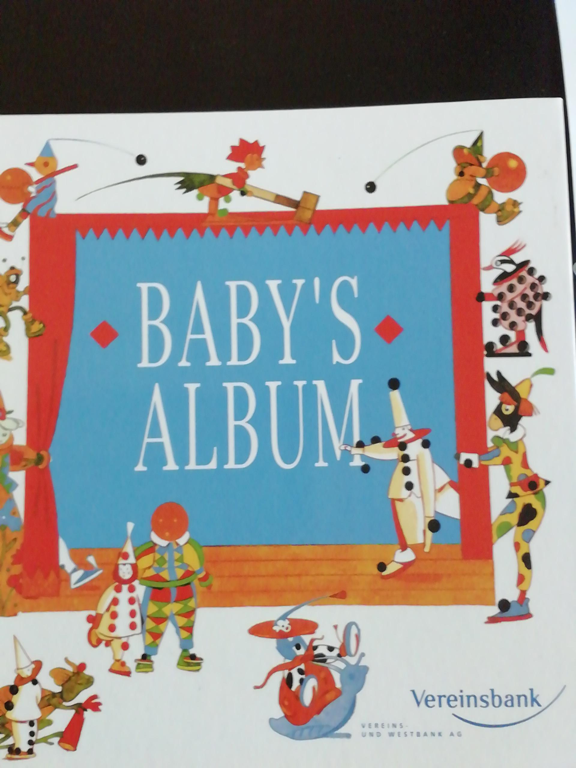 Baby Album  tauschen