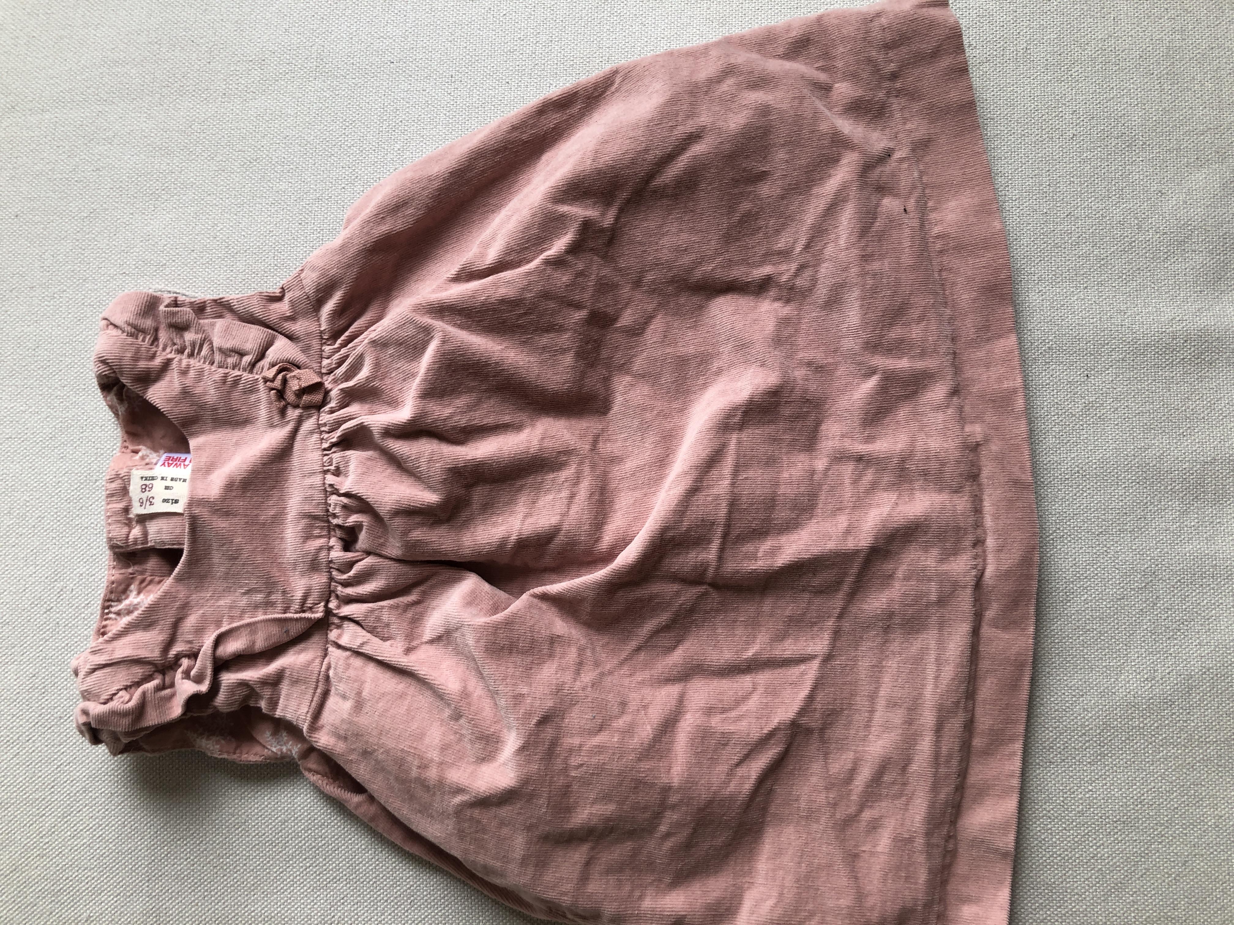Cordkleid rosa Zara 68 tauschen