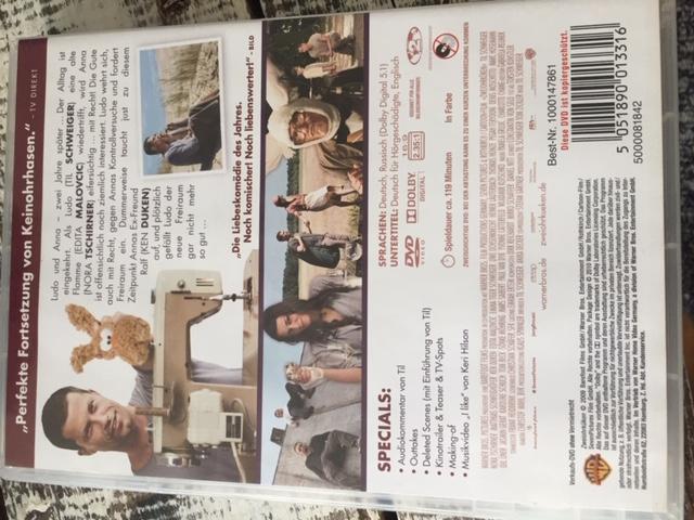 """DVD """"Zweiohrkücken"""" kostenlos"""