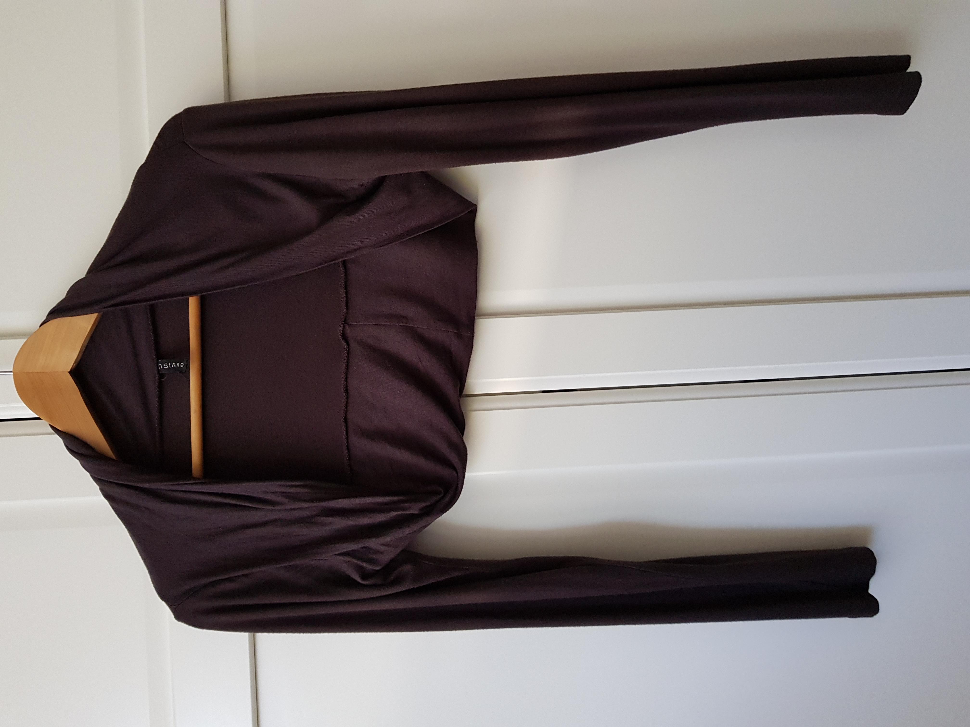 Jersey Bolero braun Gr. 36/38 tauschen