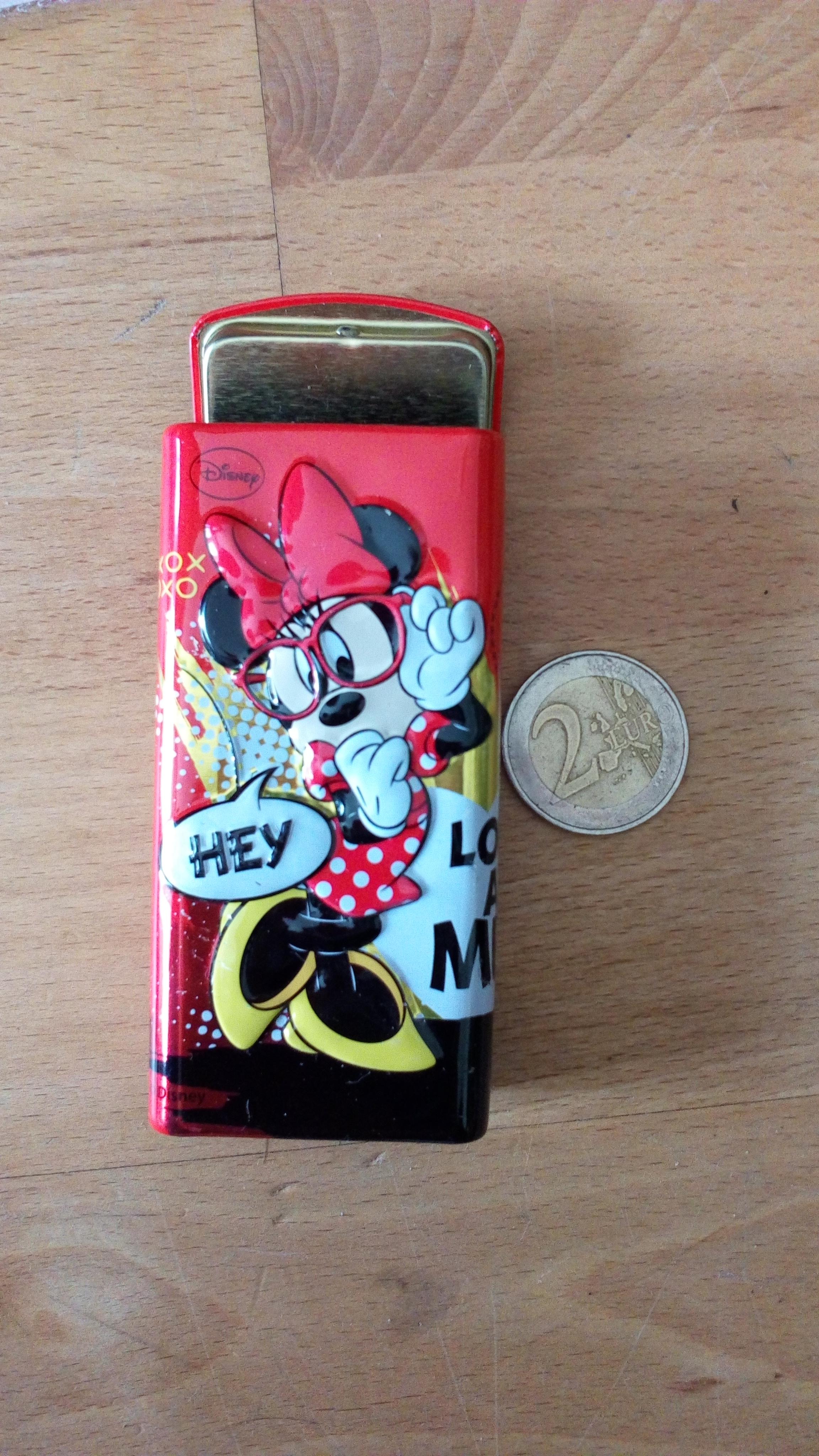 kleine Dose Minnie Mouse tauschen