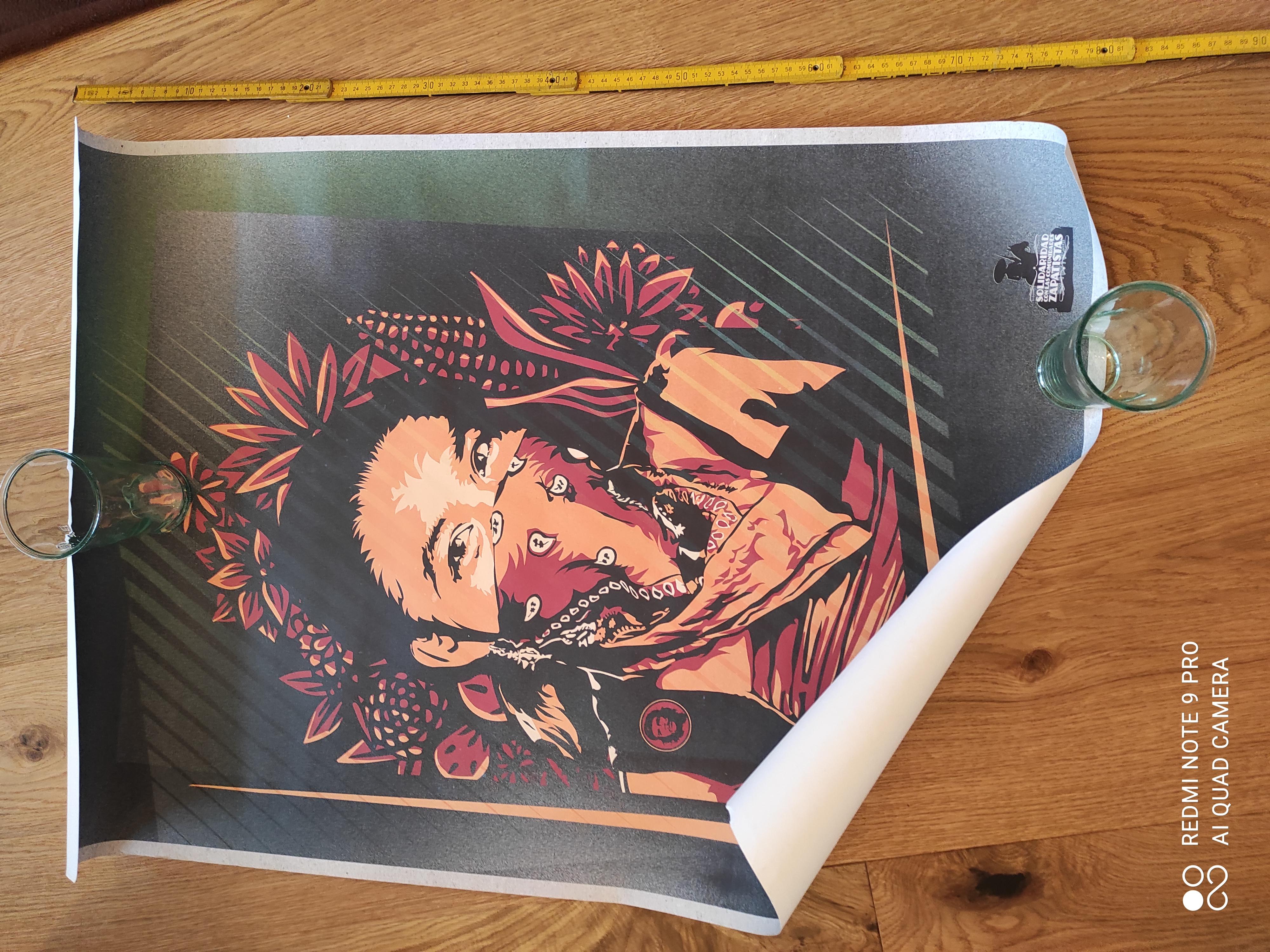 Kunstdruck zapatistas tauschen