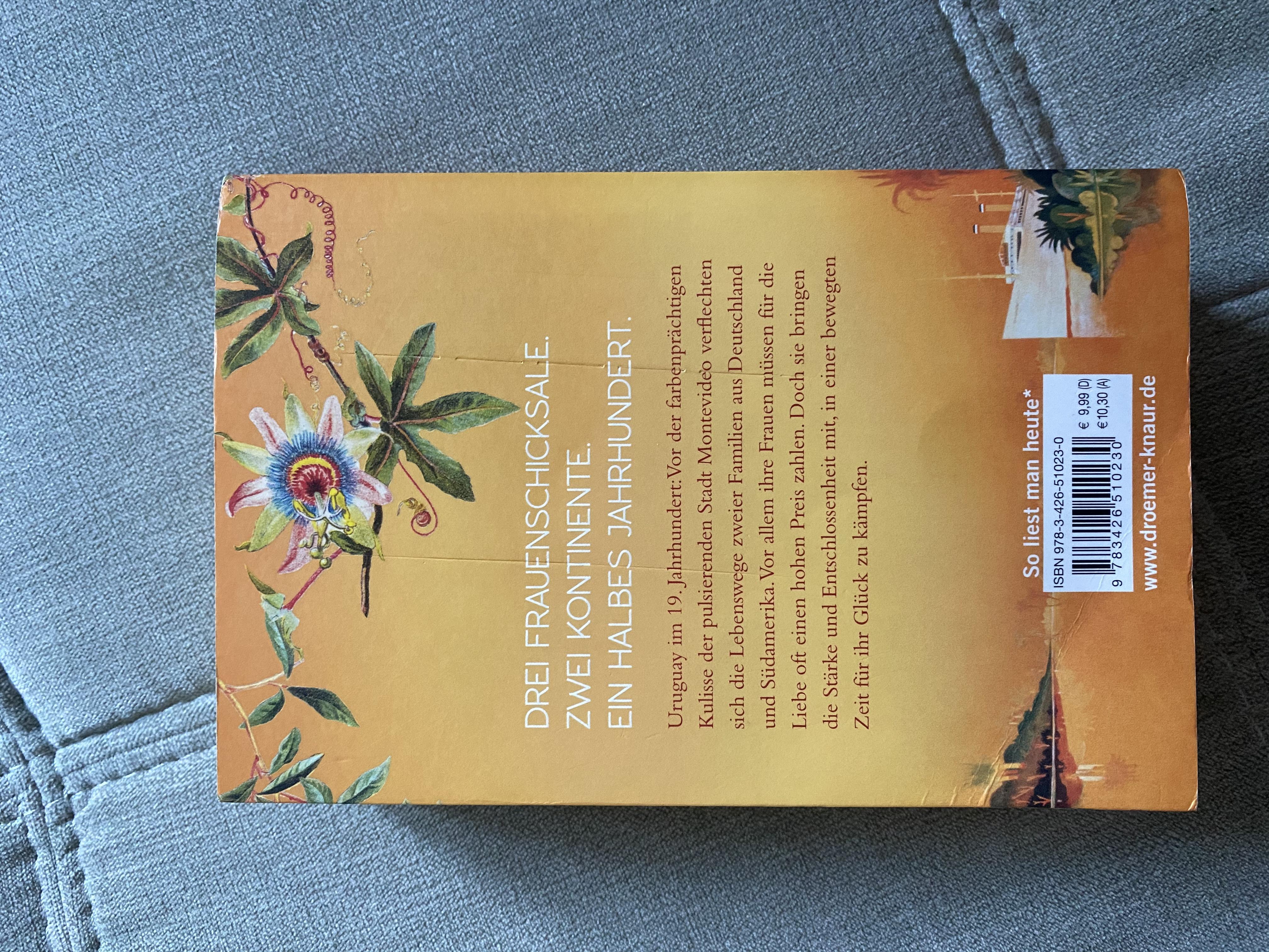 Buch Die Rosen von Montevideo kostenlos
