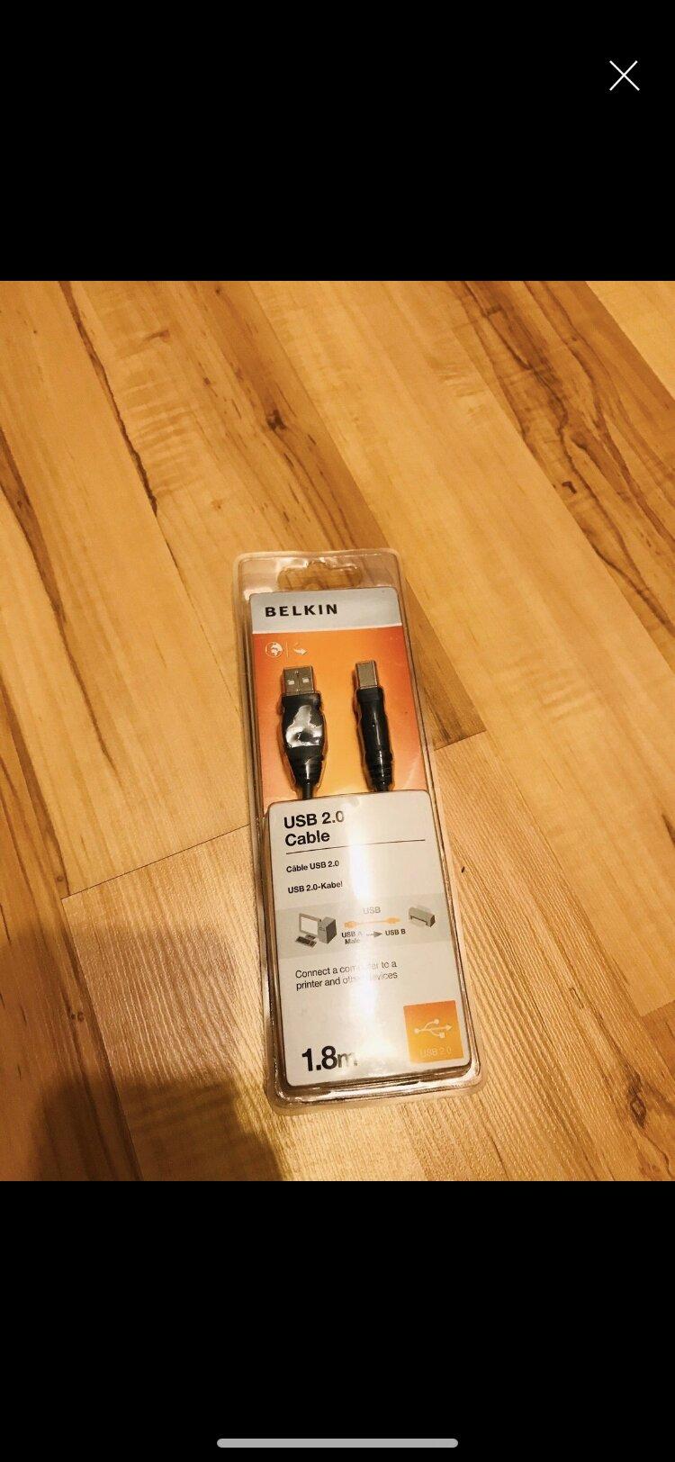 Usb kabel 1,8m für Drucker tauschen