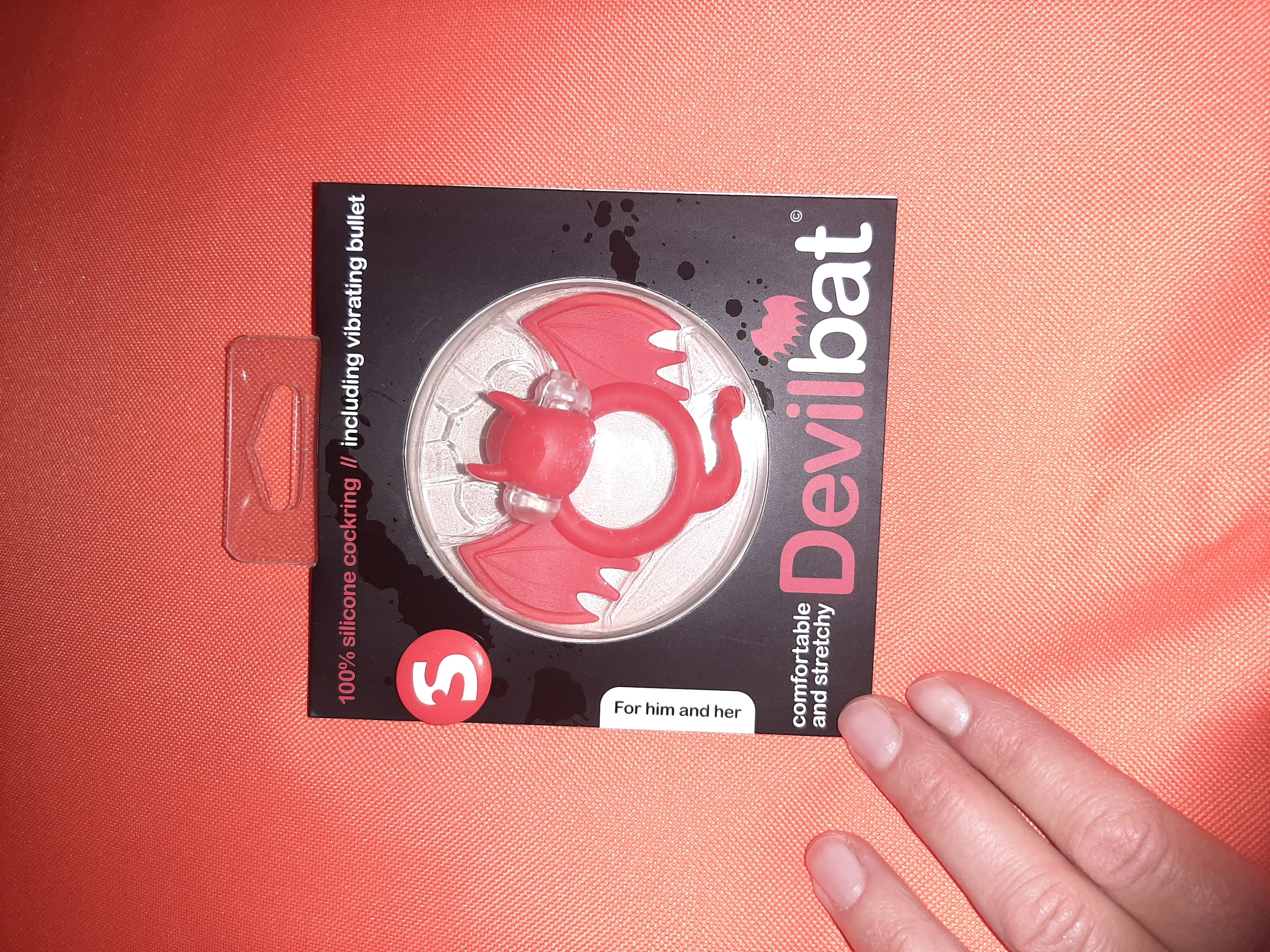 DevilBat Love Ring aus Silikon  tauschen