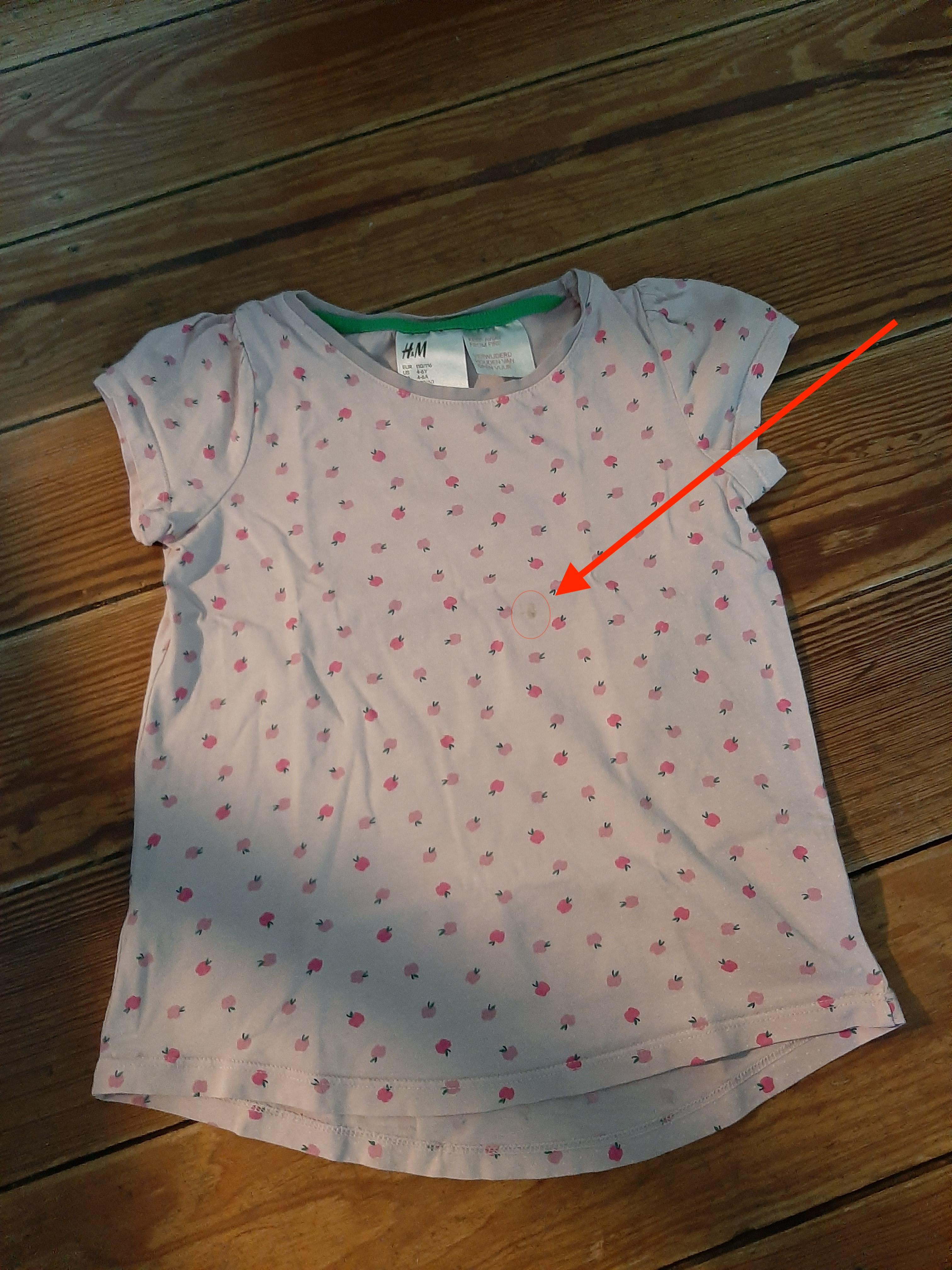 T-Shirt Gr. 110/116 tauschen