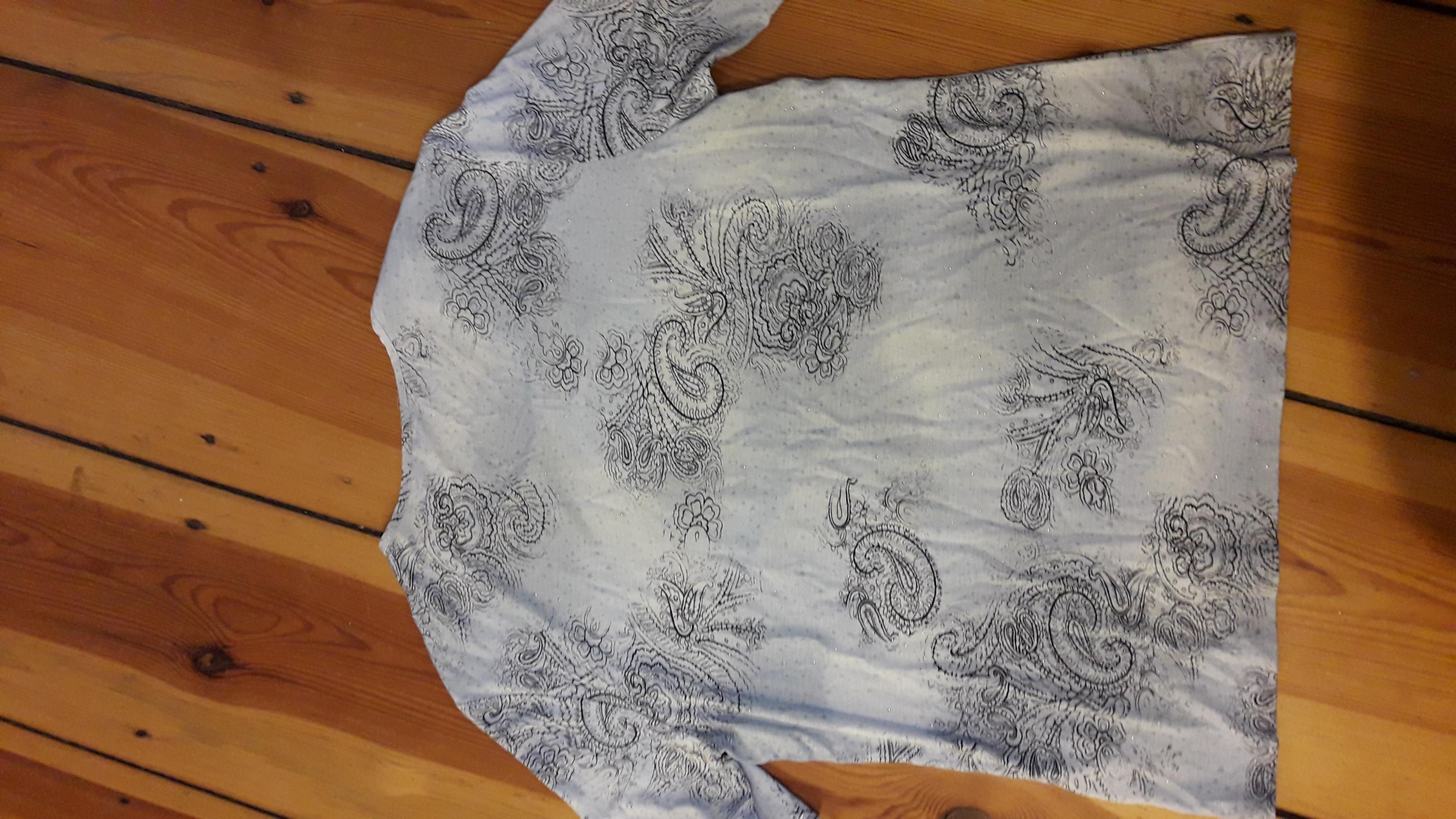 T-Shirt mit glitzer Montreal gr. gebraucht kaufen
