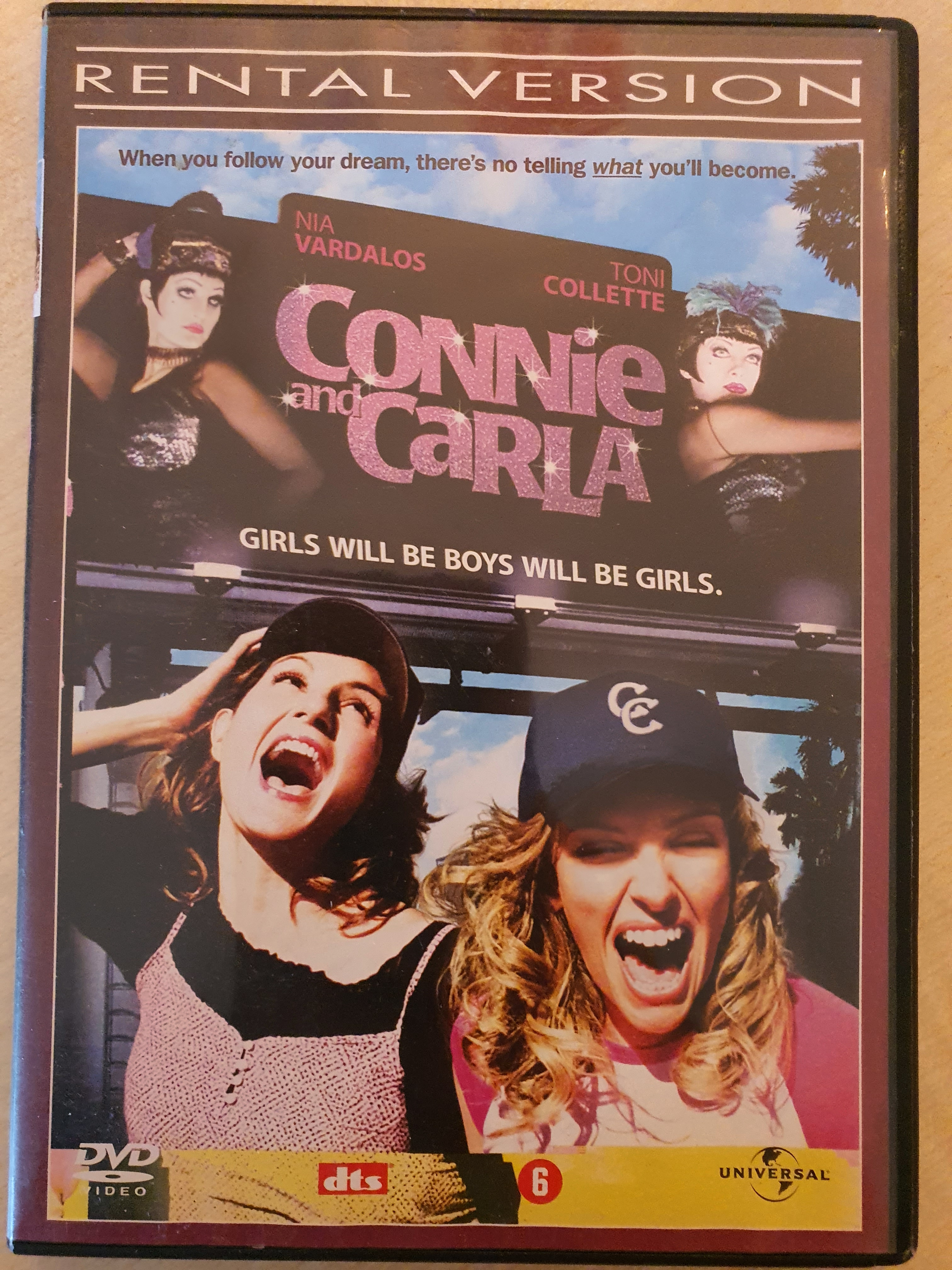 DVD Connie and Carla kostenlos