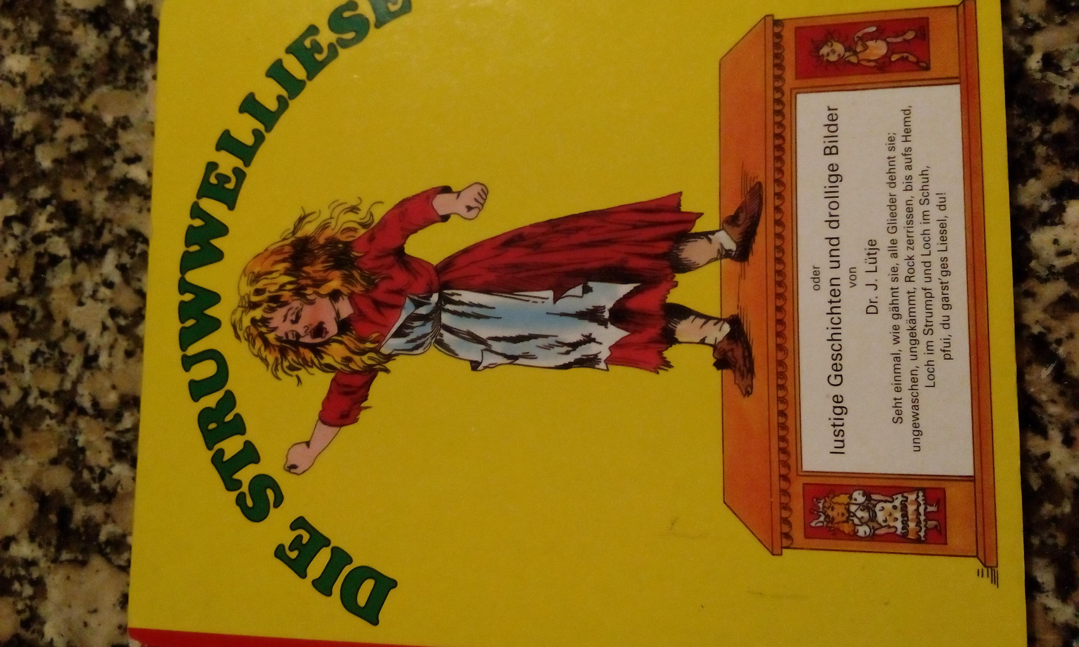 Buch Die Struwwelliese tauschen