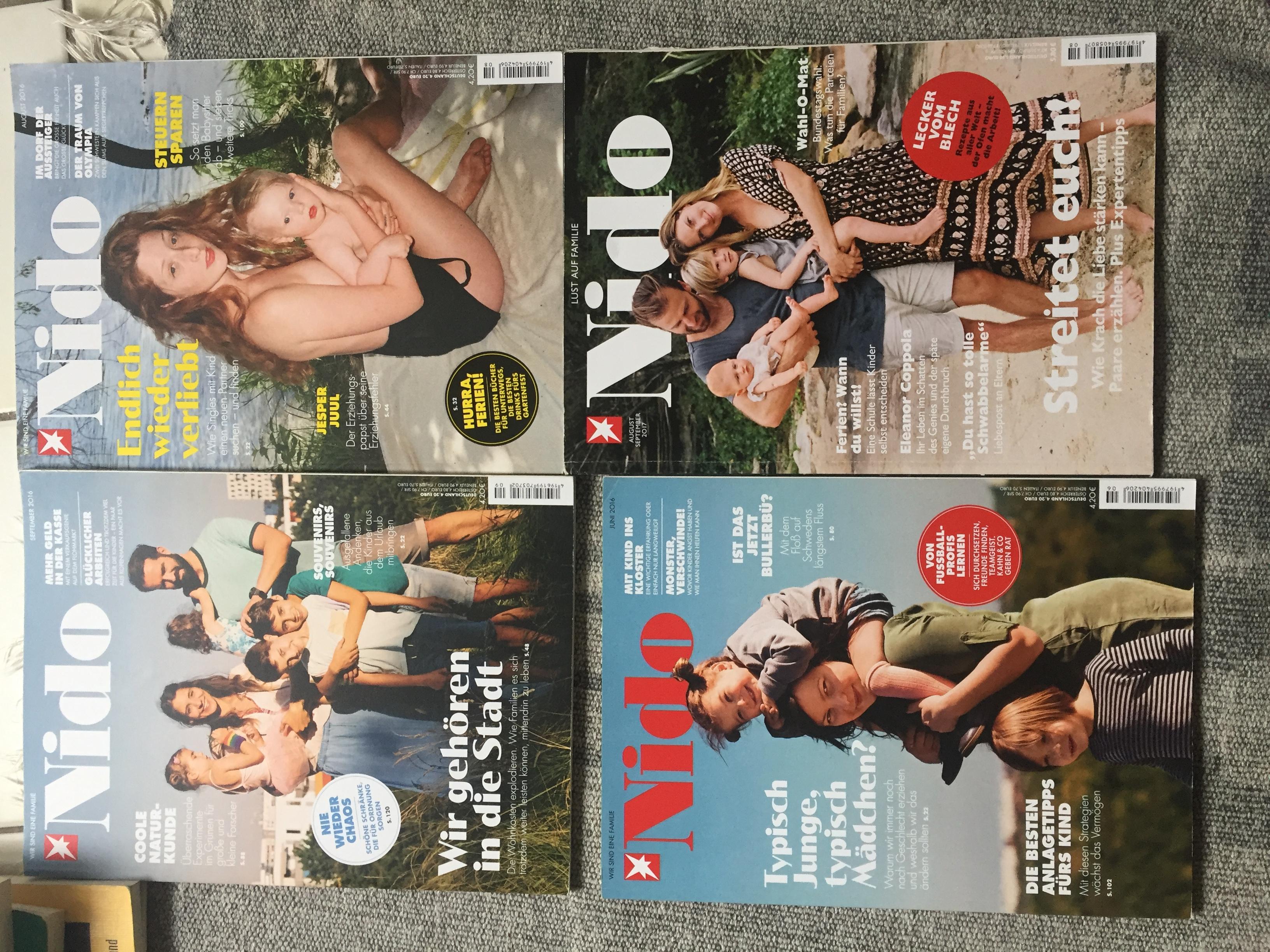 Zeitschrift Nido tauschen