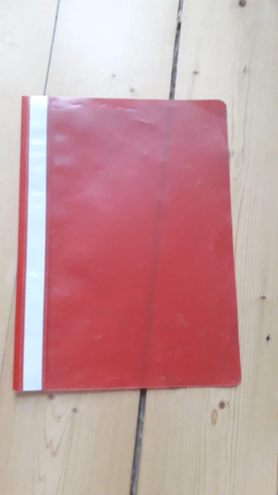 A4 Schnellhefter rot kostenlos