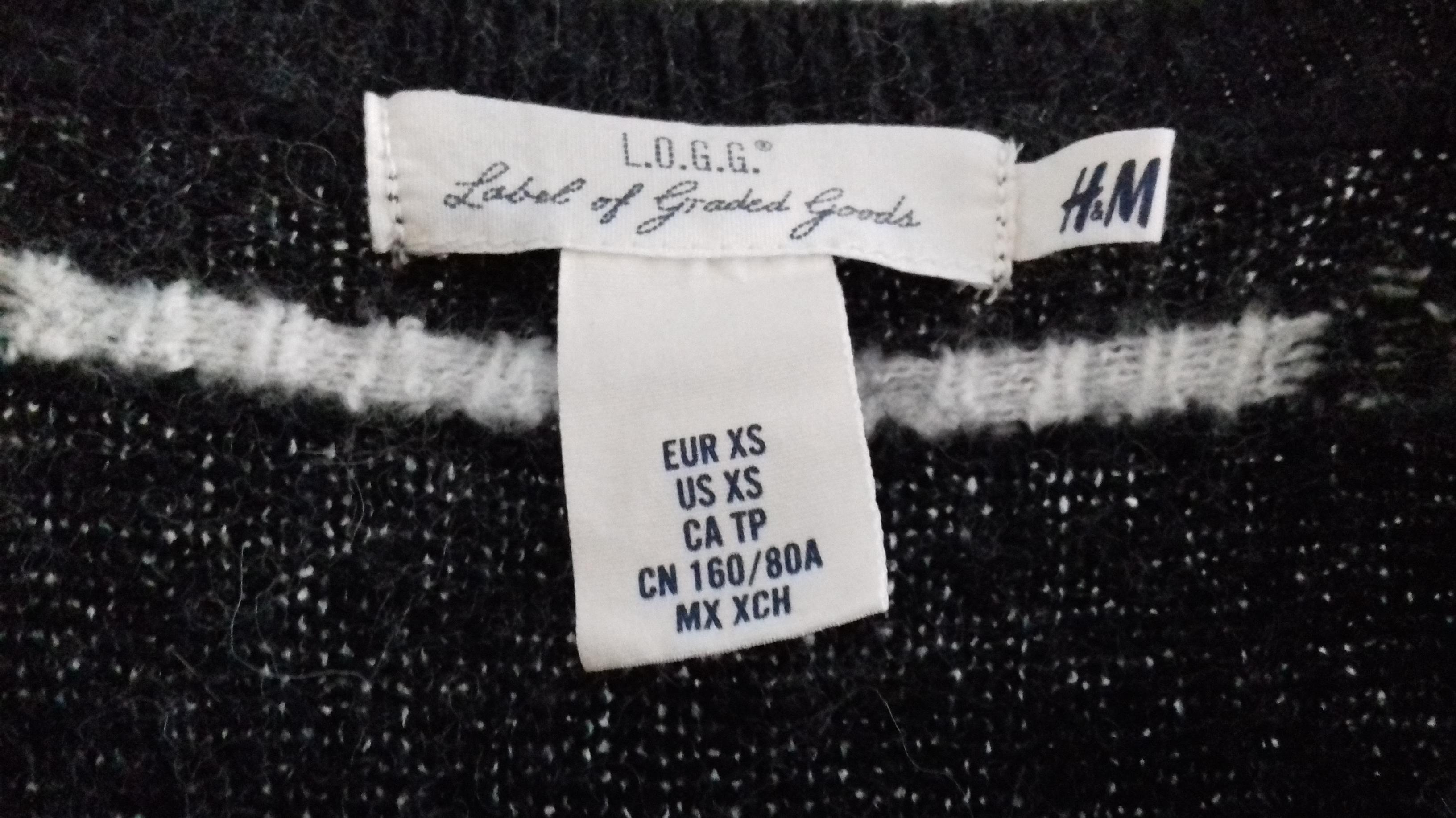 Damen Pullover grau/weiß XS kostenlos