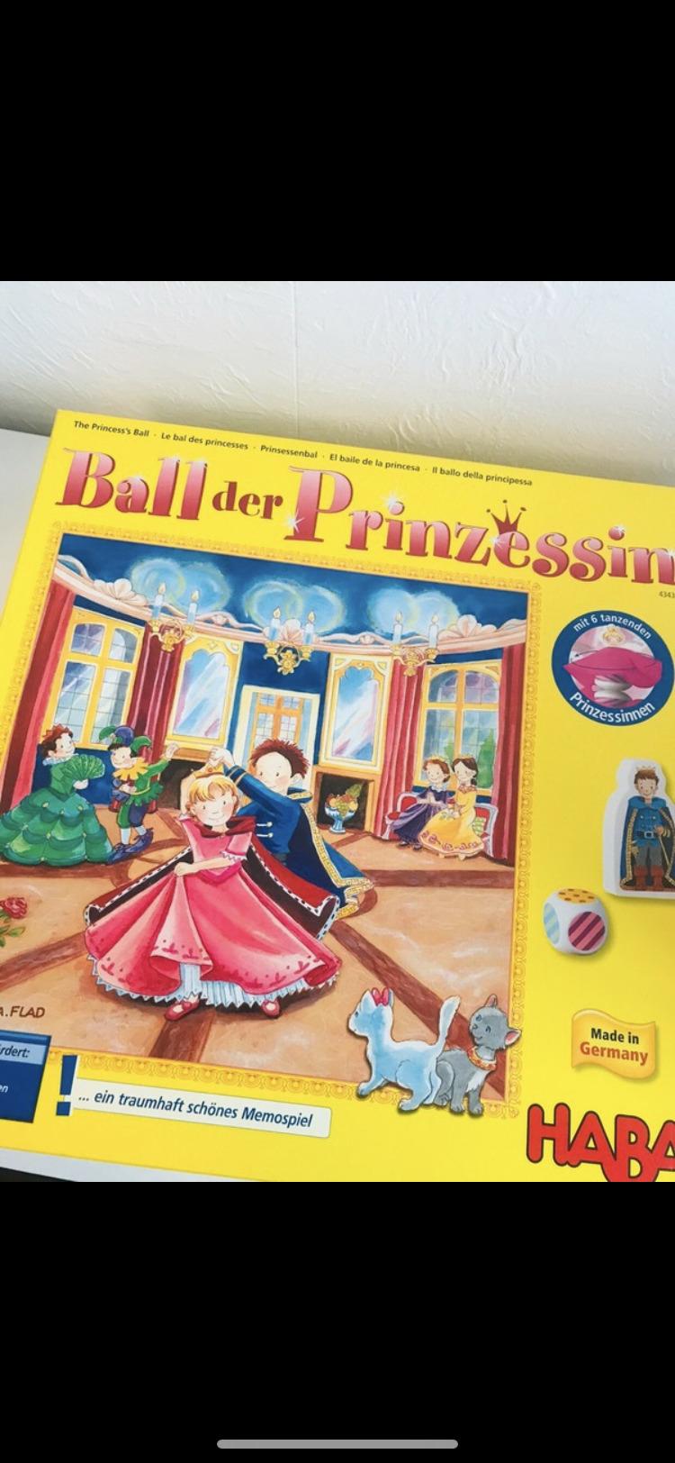 Haba Ball der Prinzessin  tauschen