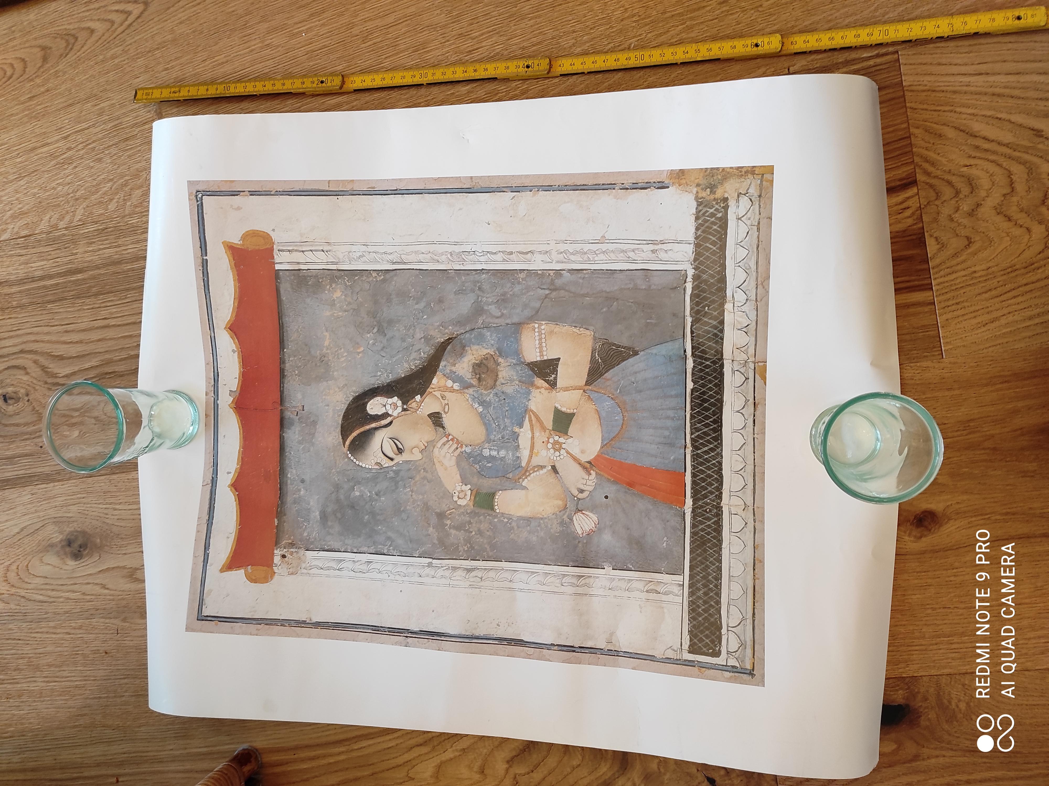 Kunstdruck indisch tauschen