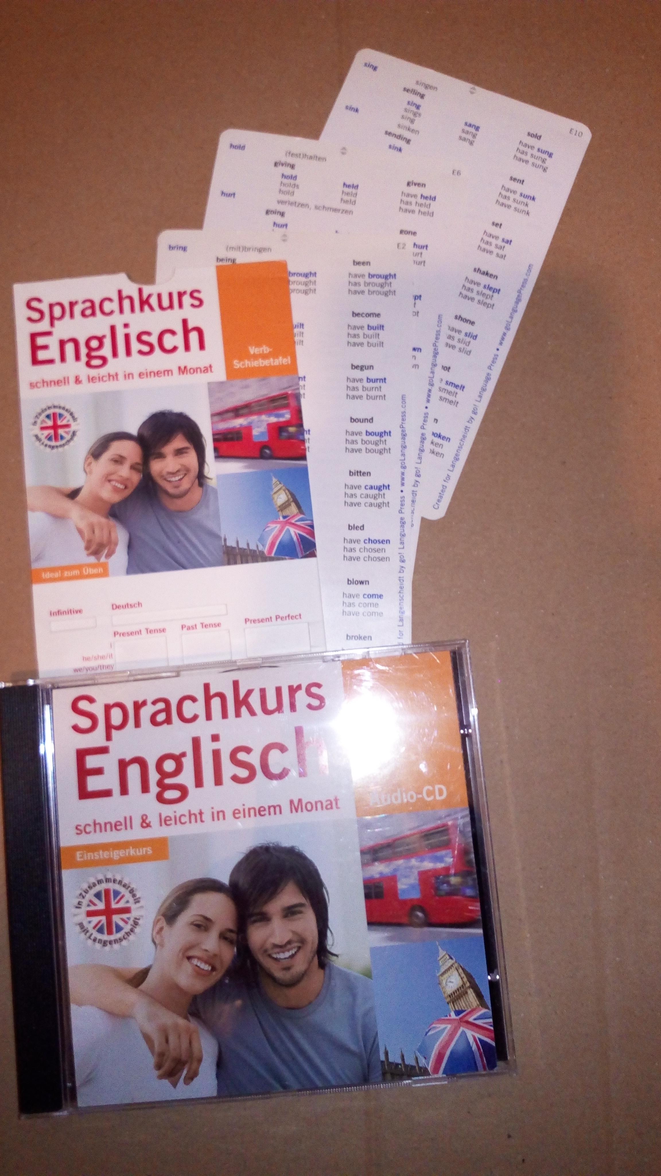 Englisch-Sprachkurs CD tauschen