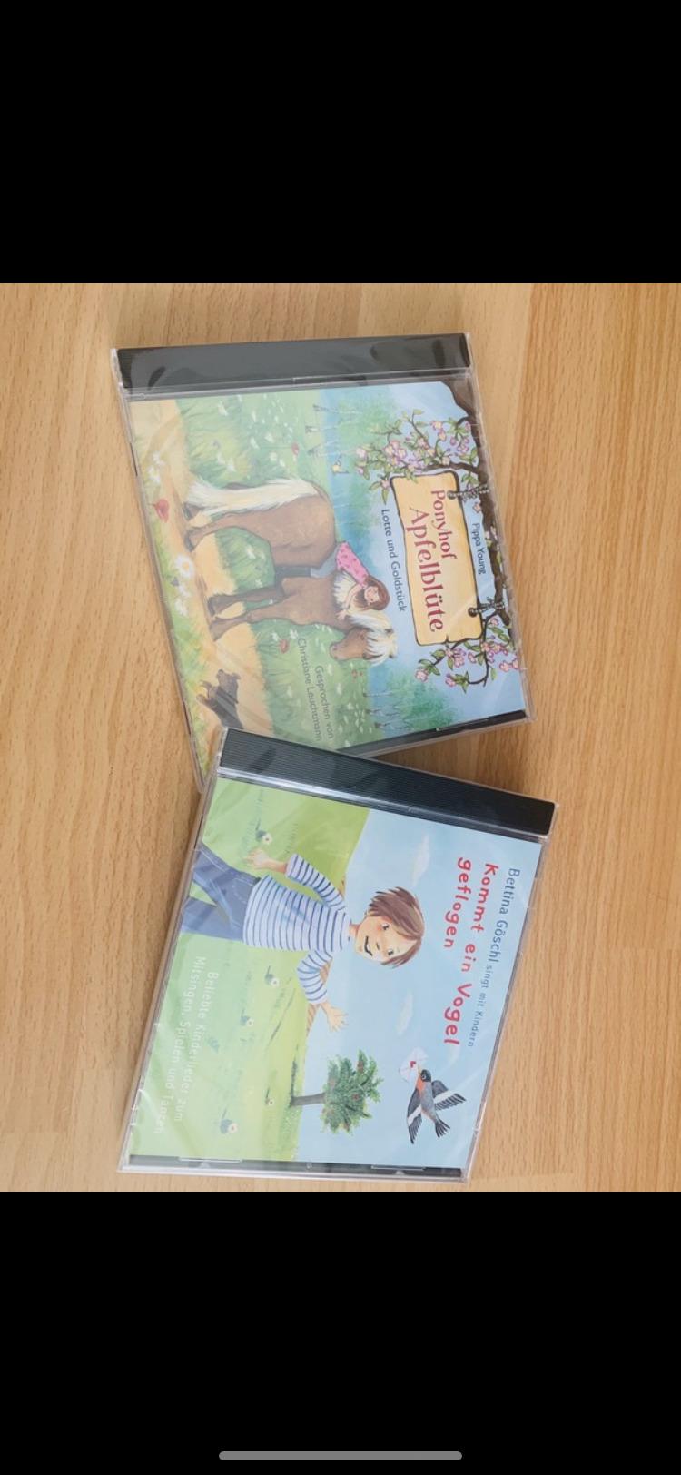 Kinder cd Lieder und Hörbuch neu tauschen