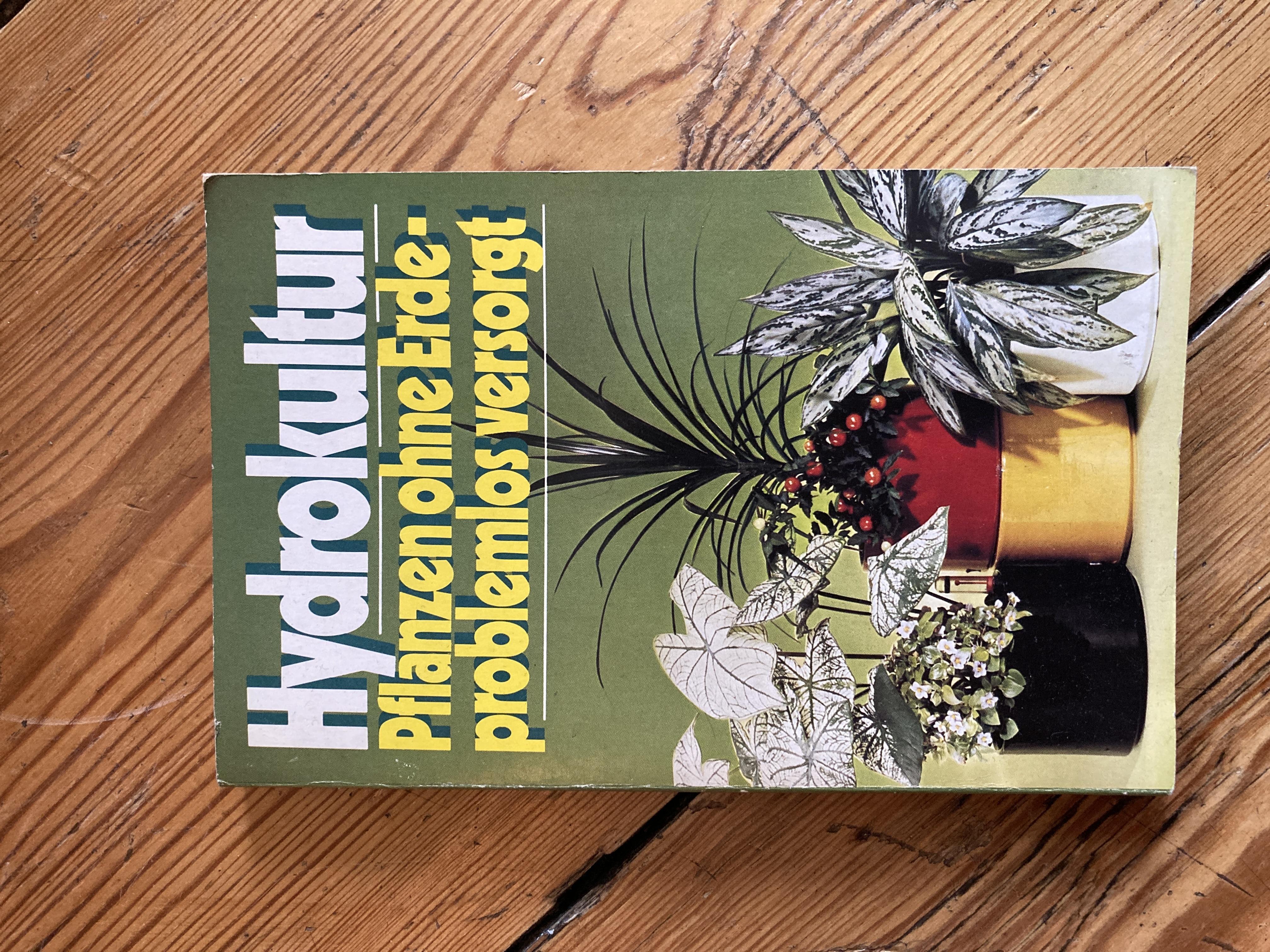 Hydrokultur - Sachbuch tauschen