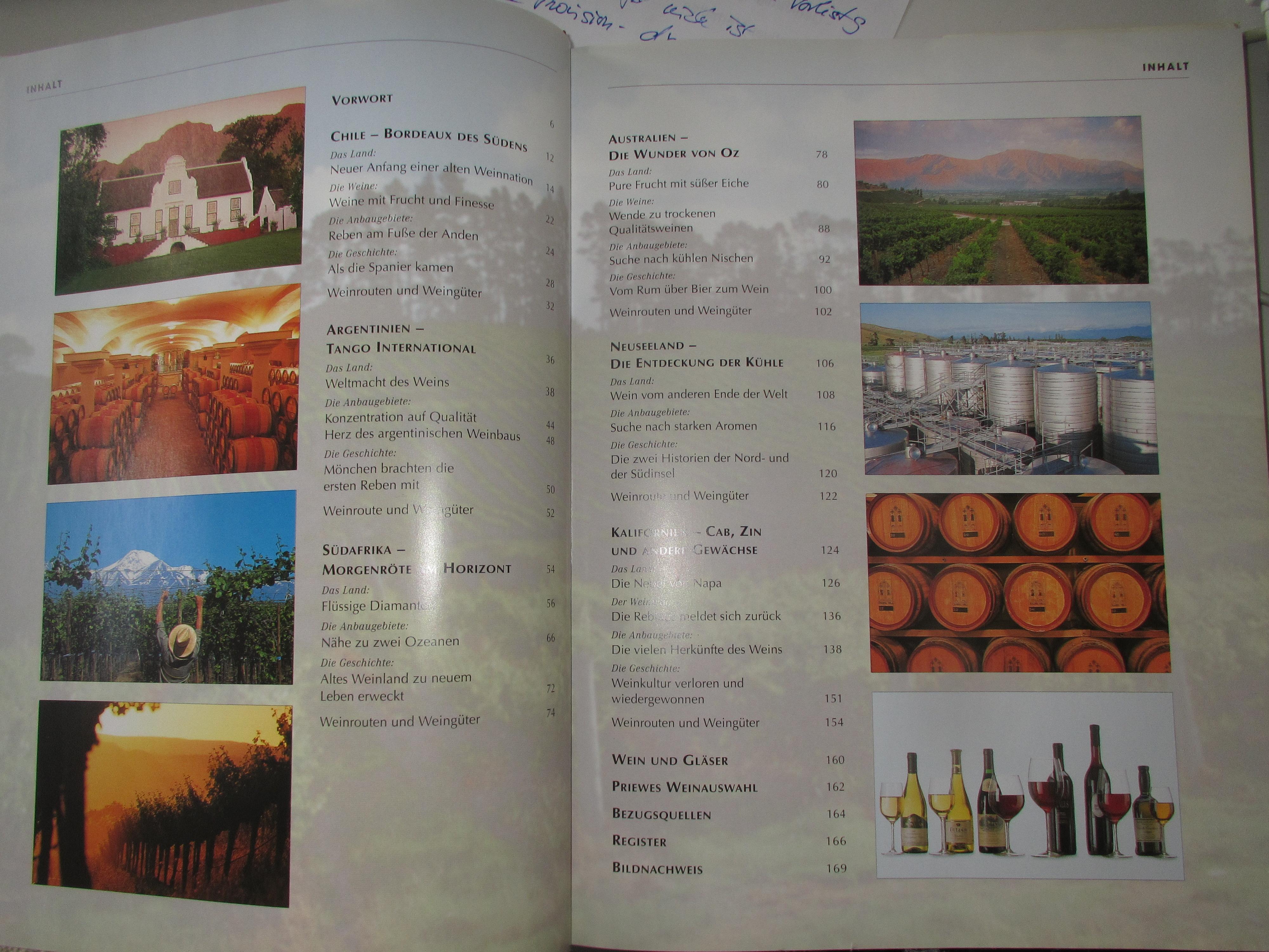 Wein - Die neue Welt kostenlos