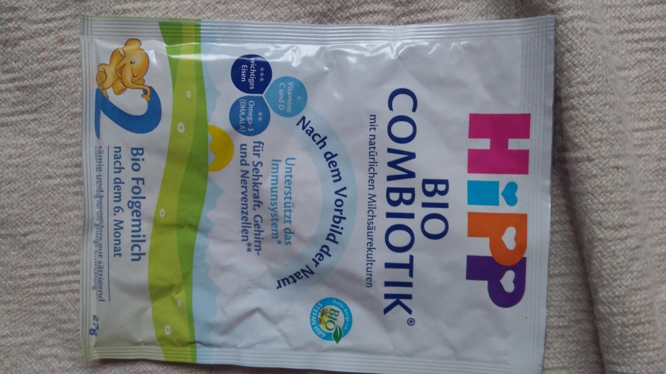 Hipp Bio Combiotik tauschen