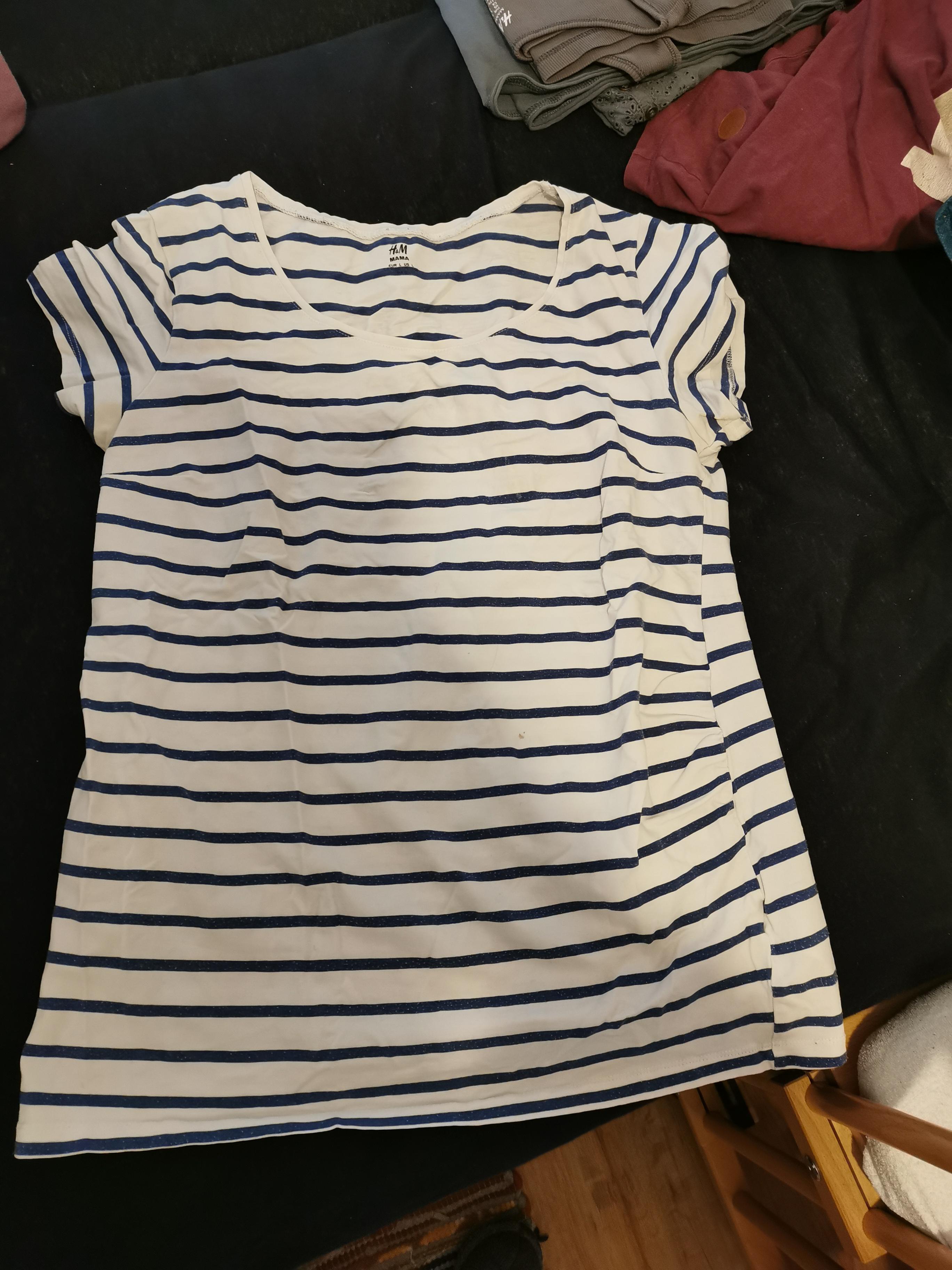 H&M Umstandsshirt Größe L tauschen