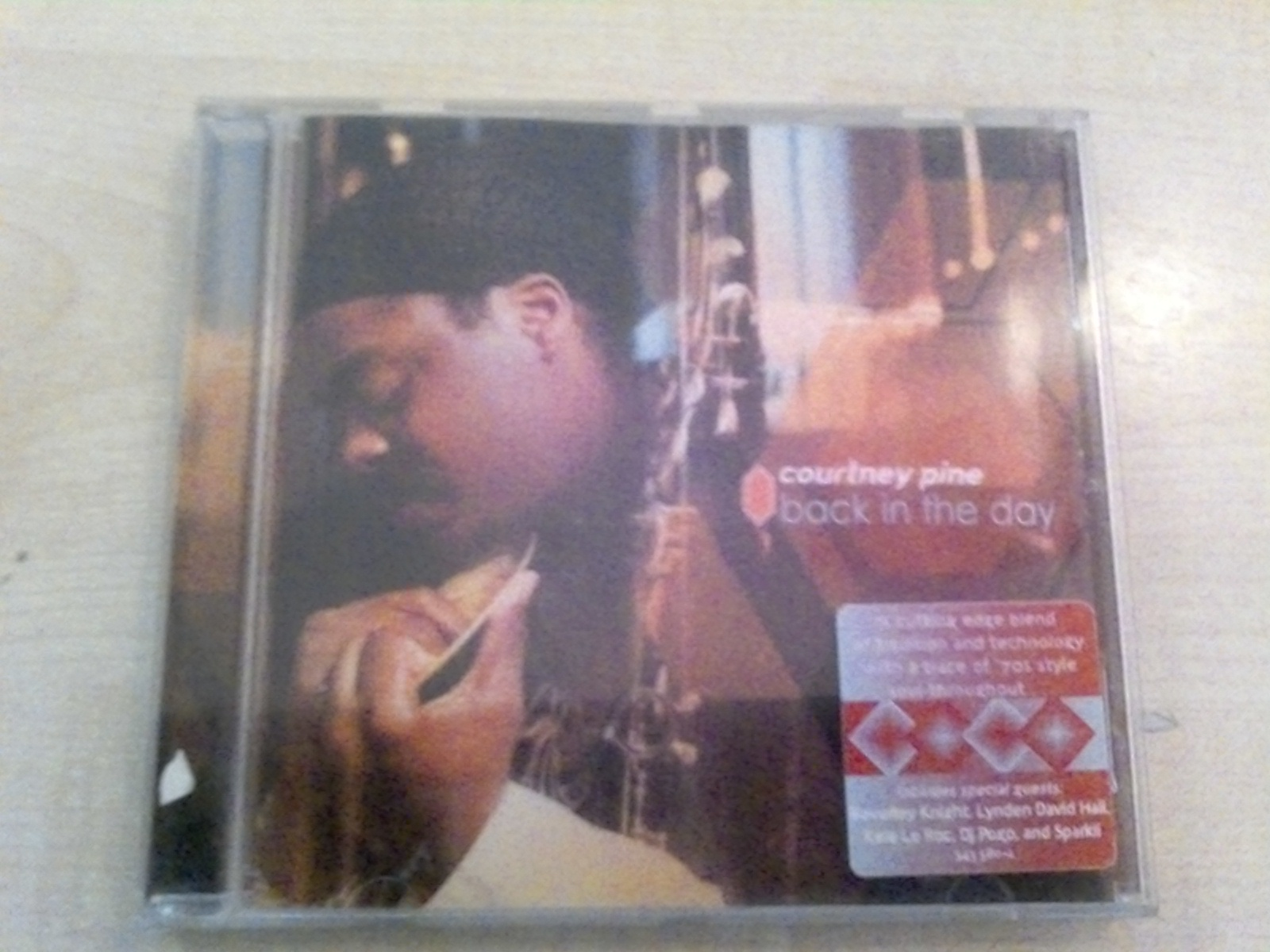 "CD ""Courtney Pine-Back in the Day"" kostenlos"
