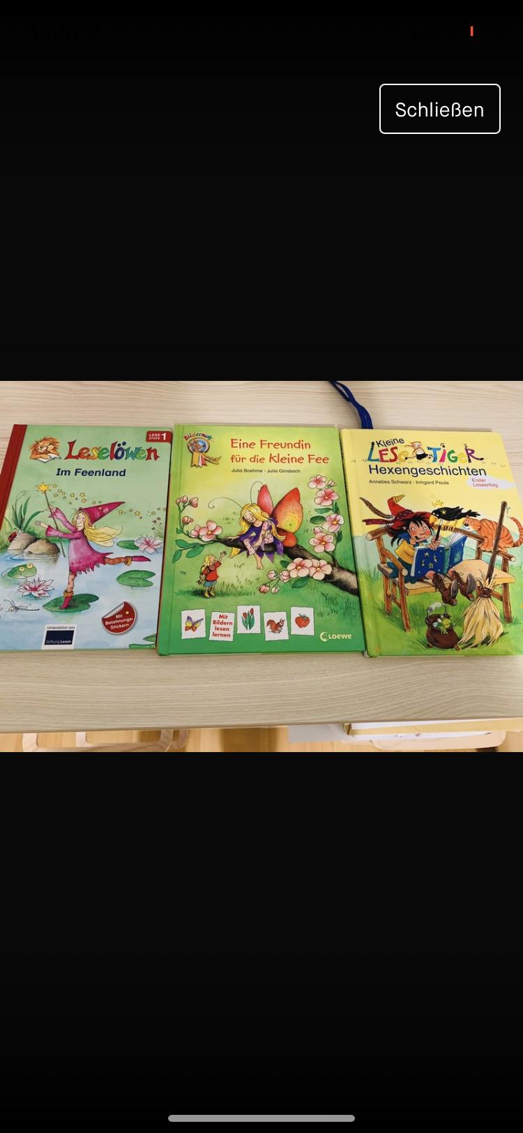 Kinderbücher erste lesen  tauschen