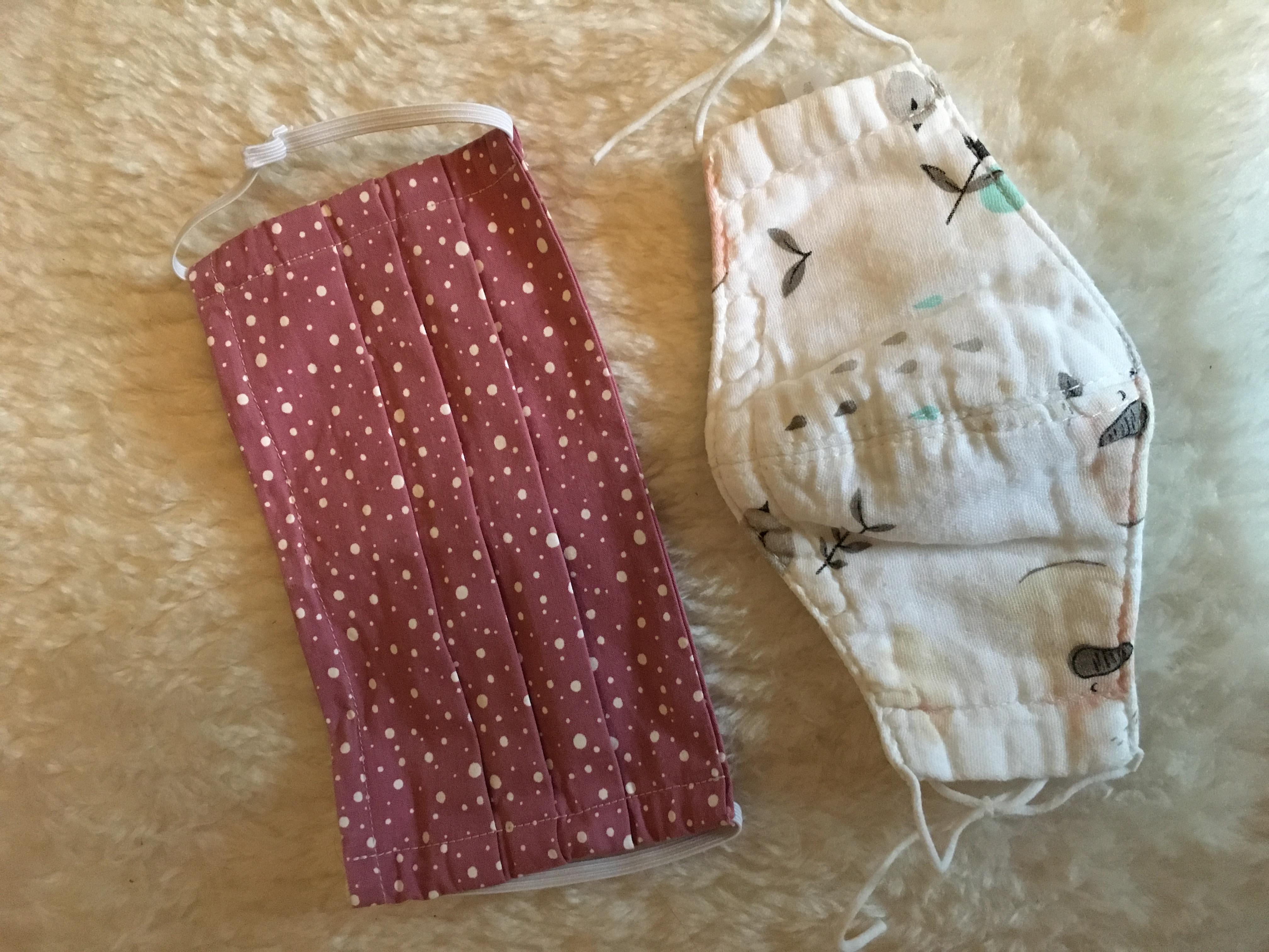2 Kinder Mundschutze tauschen
