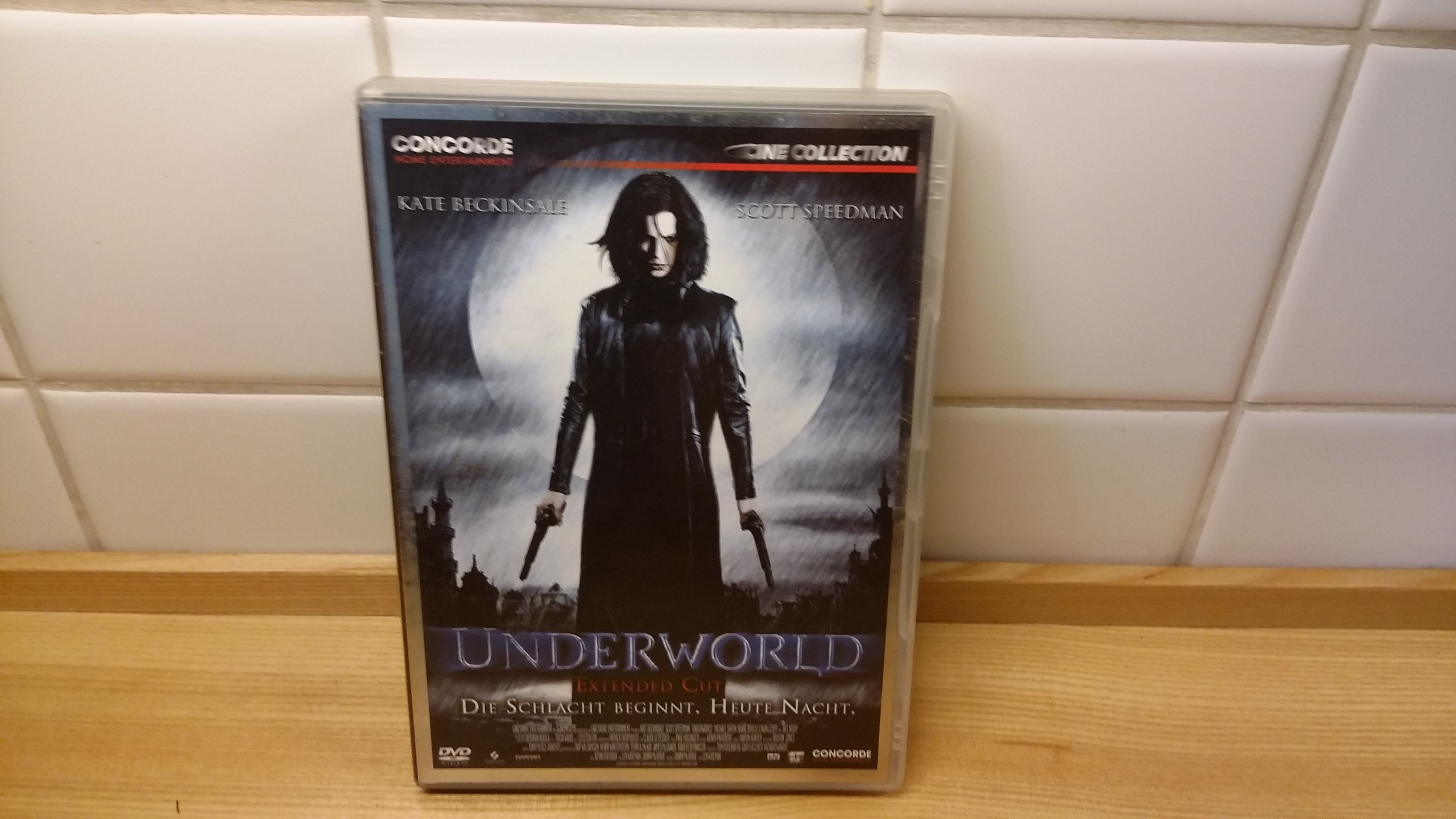 DVD underworld extended cut tauschen