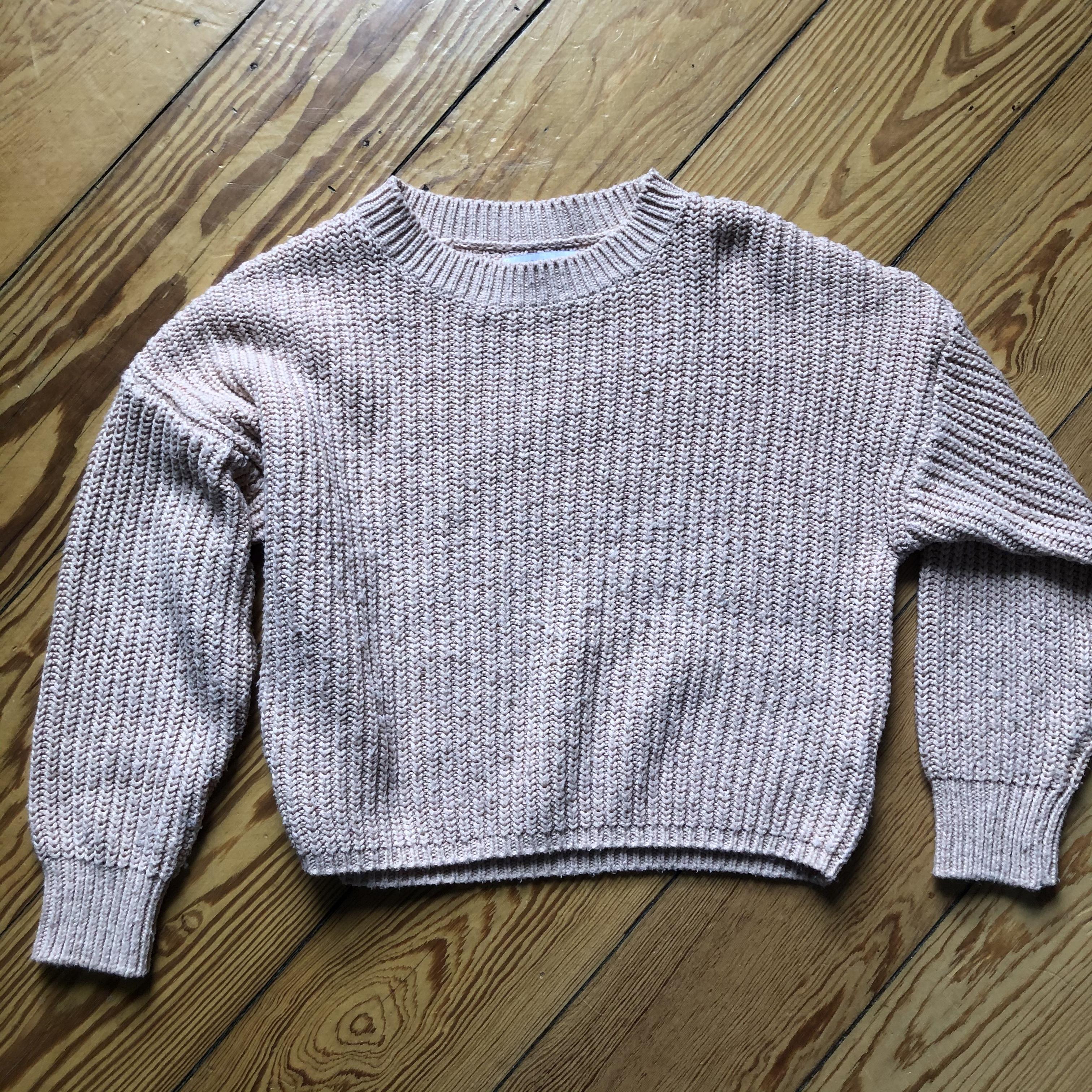 Kurzer Pullover rosa 134 tauschen
