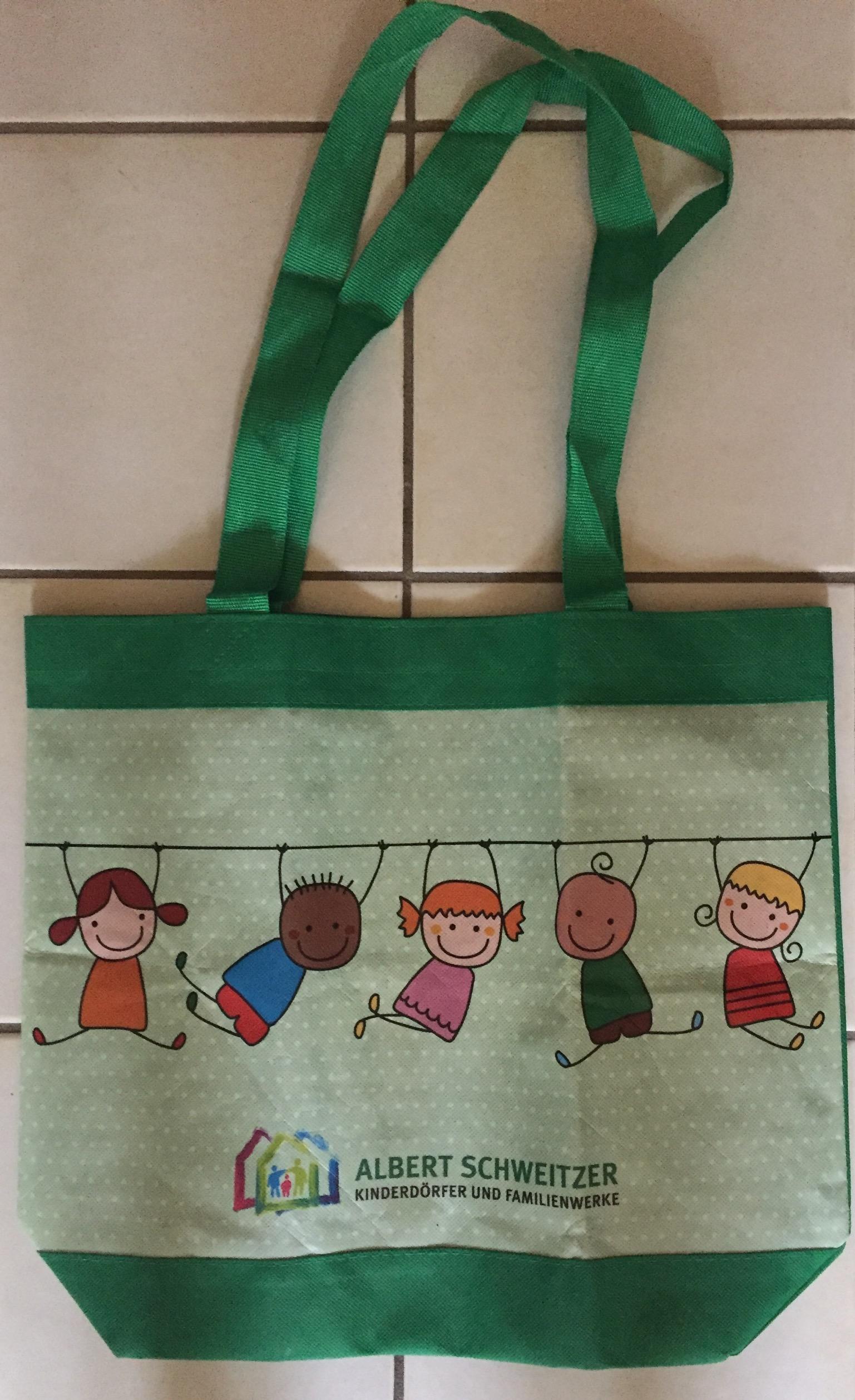 Tasche mit Kindern tauschen