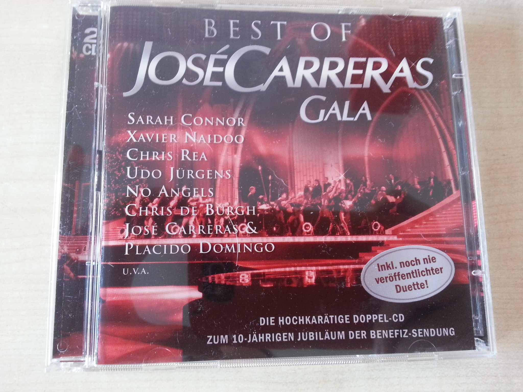 CD: Jose Carreras Gala- best of  kostenlos