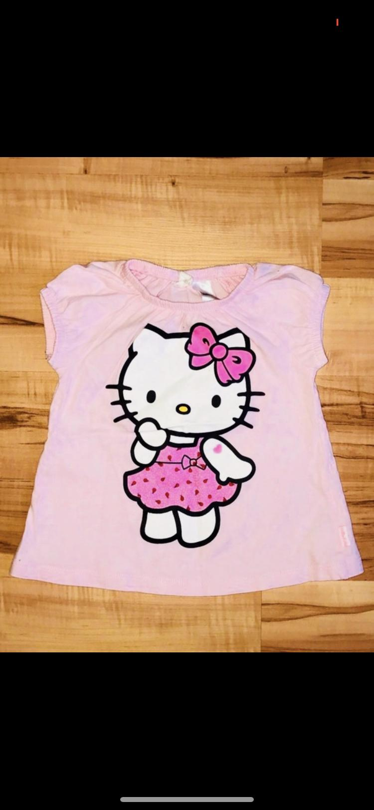 Hello kitty Shirt Gr 62 tauschen