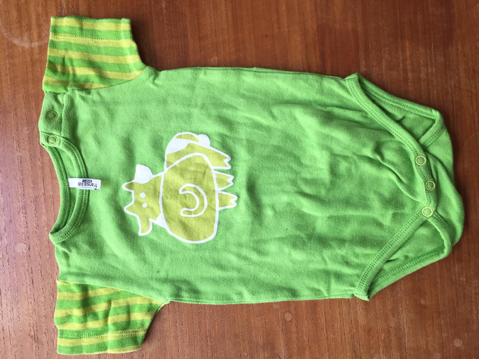 Baby Kurzarmbody 74  gebraucht kaufen