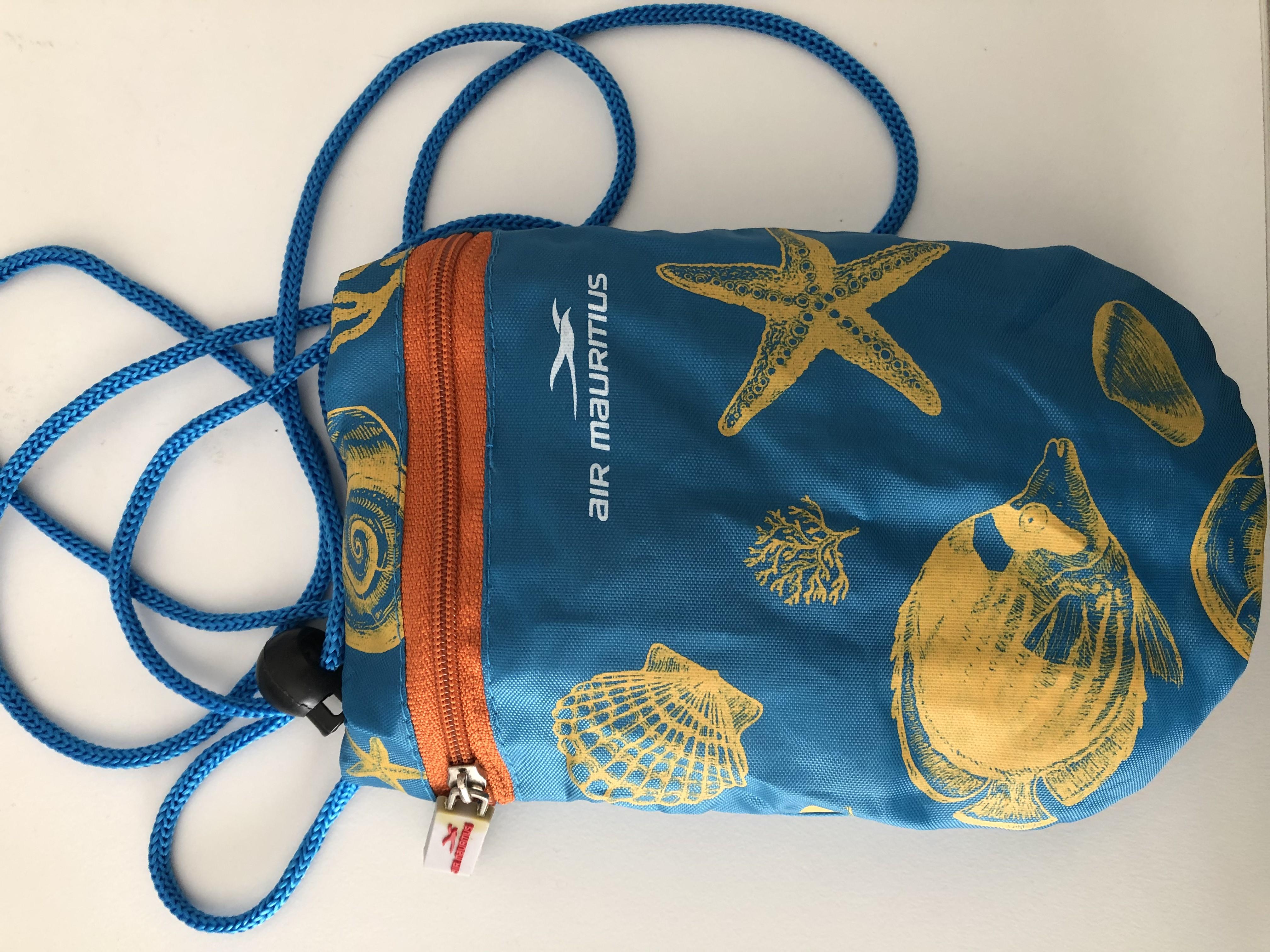 Reisetasche von Air Mauritius tauschen