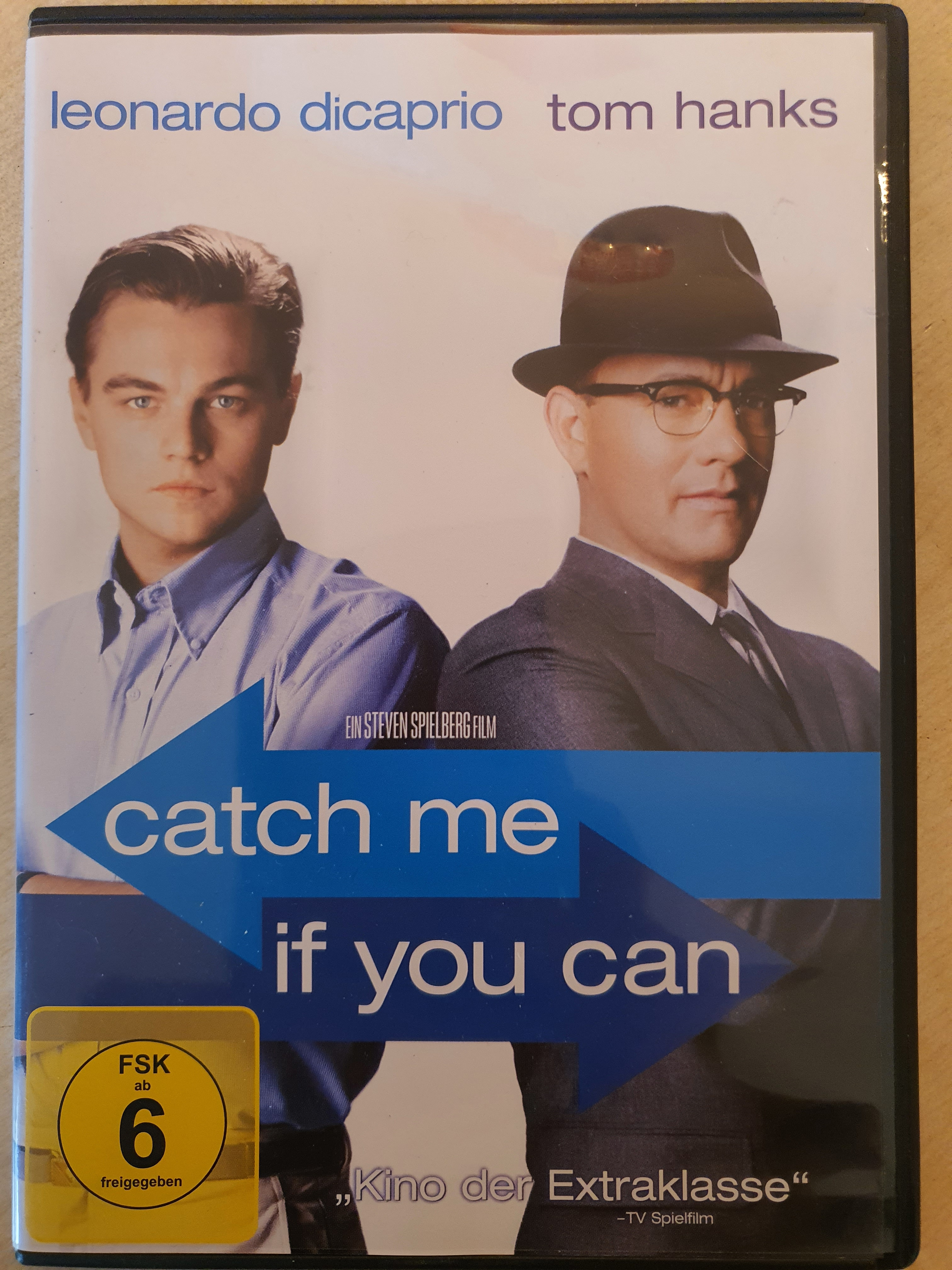 DVD Catch me if you can kostenlos