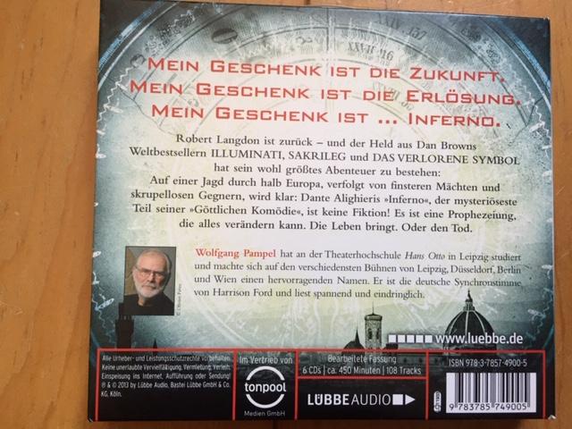 "Hörbuch ""Inferno"" kostenlos"