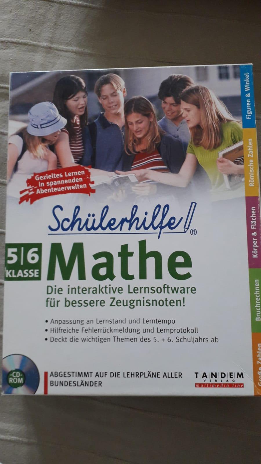 Mathe Lernsoftware tauschen