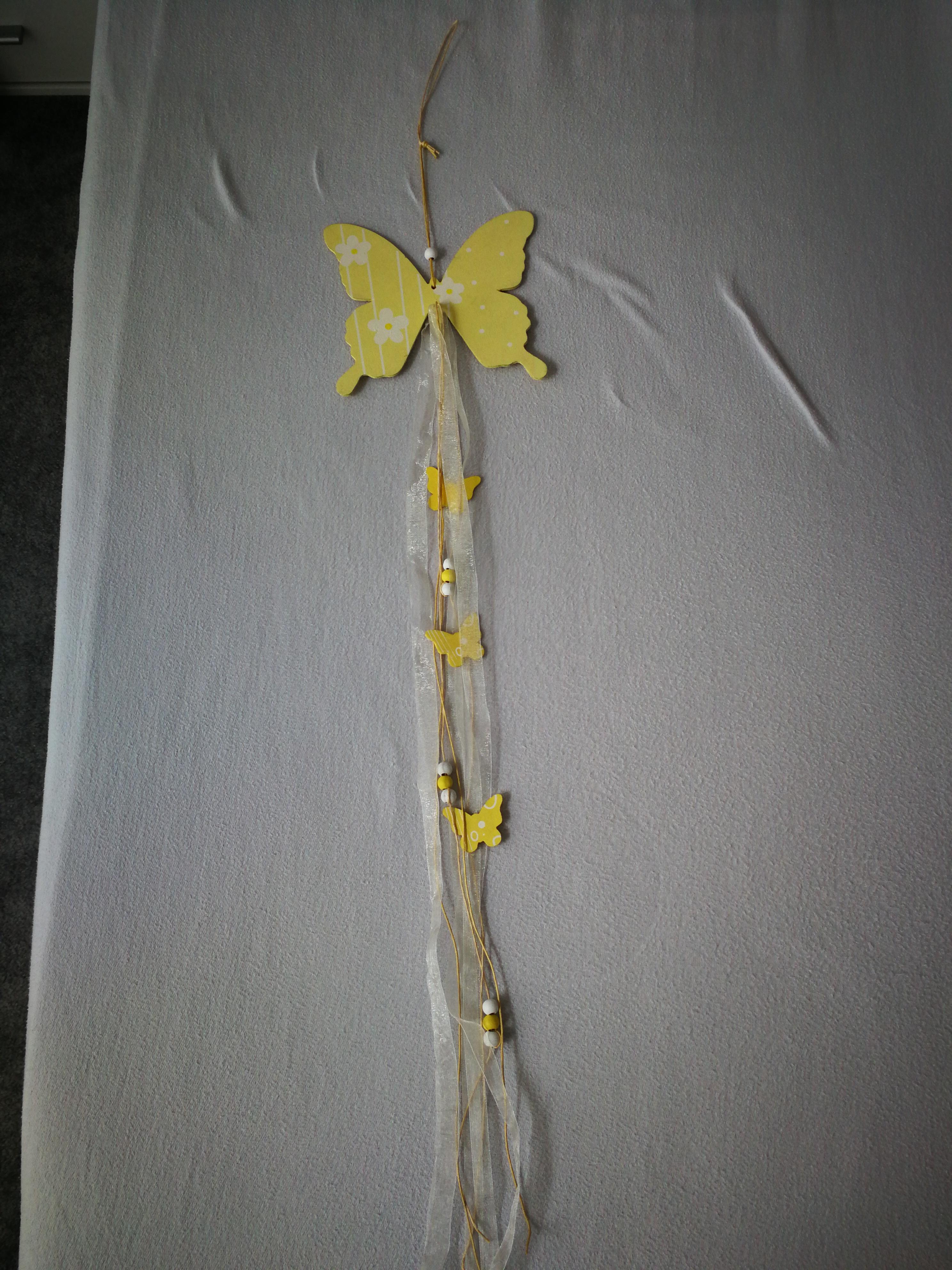 Schmetterling zum hängen tauschen