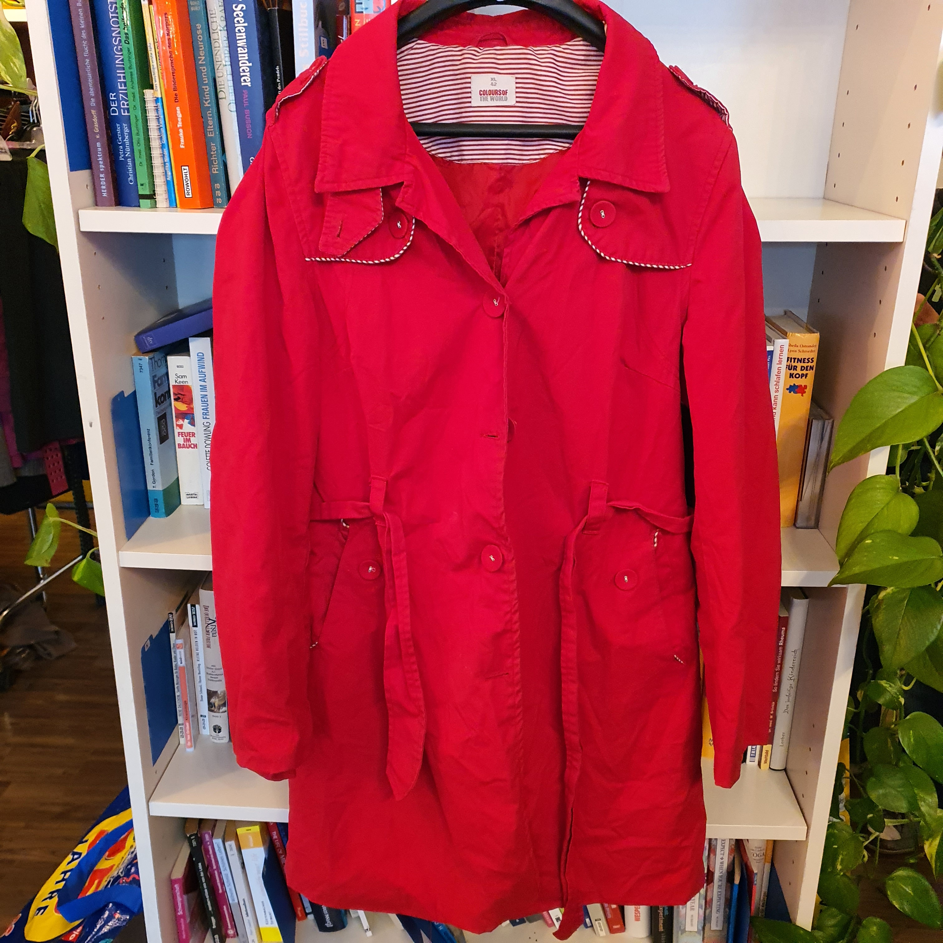Jacke rot COLOURS OF THE WORLD Gr. XL/42 kostenlos
