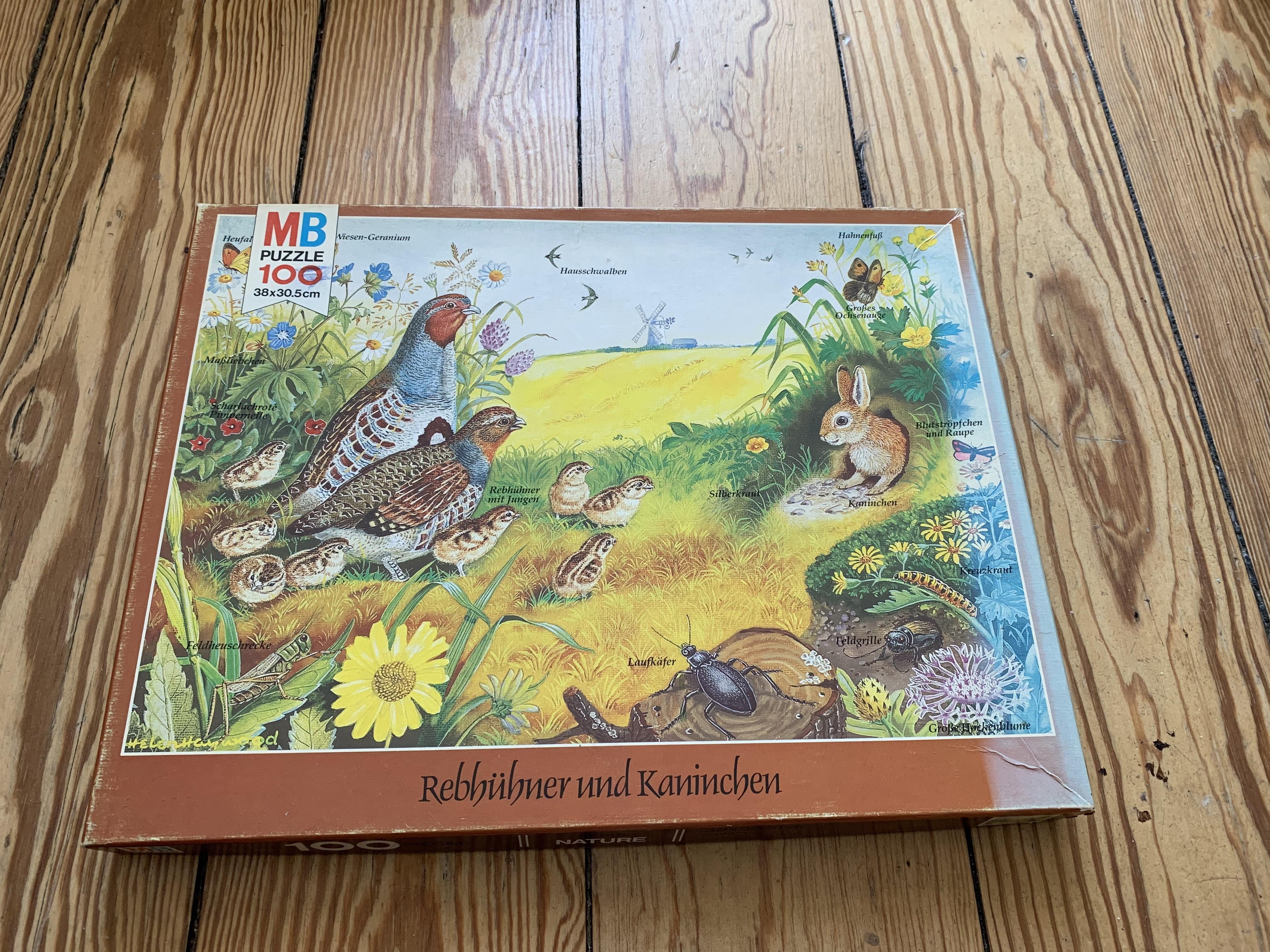 Kinder Puzzle 100Teile tauschen