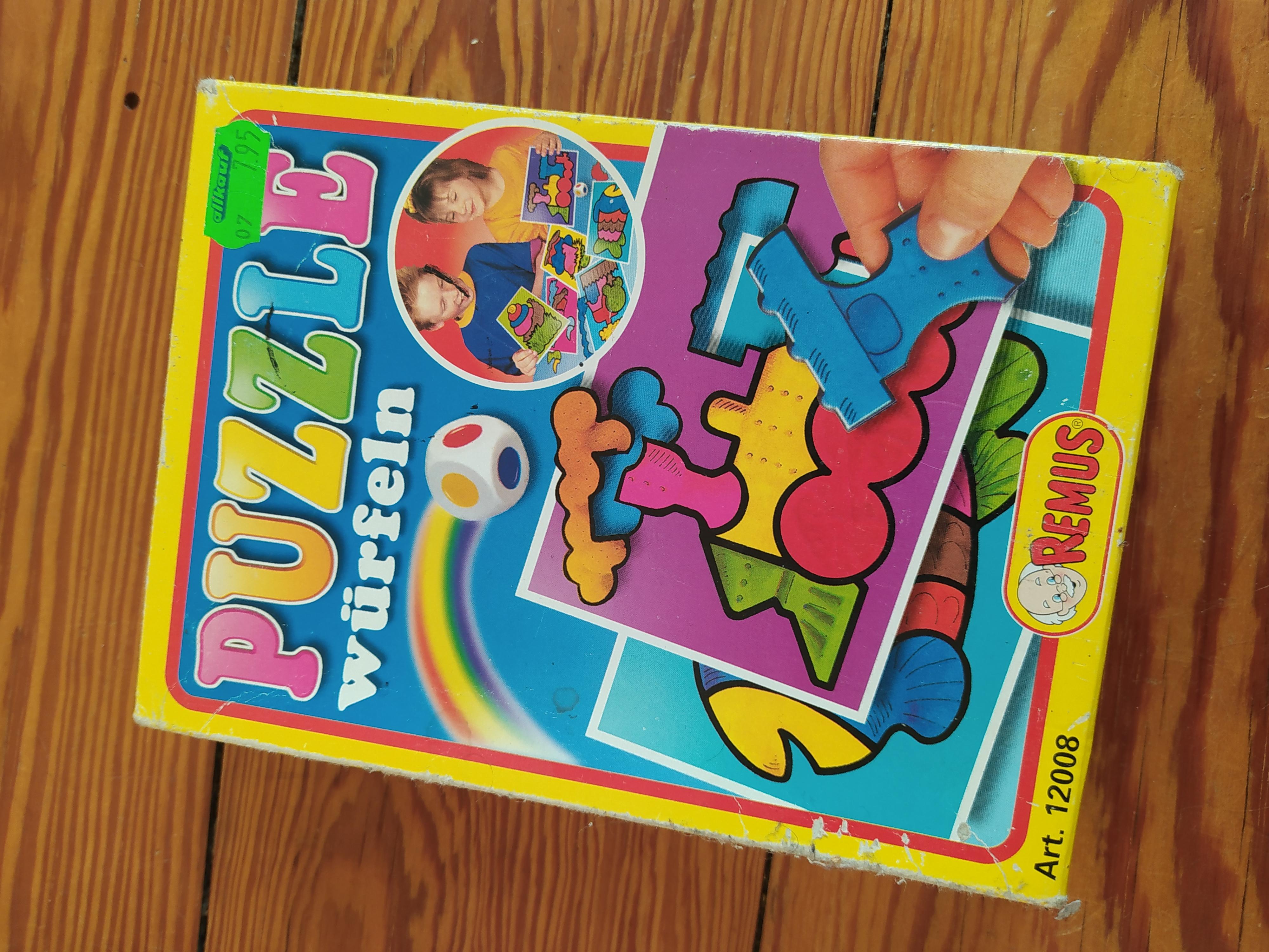 Puzzle würfeln  tauschen