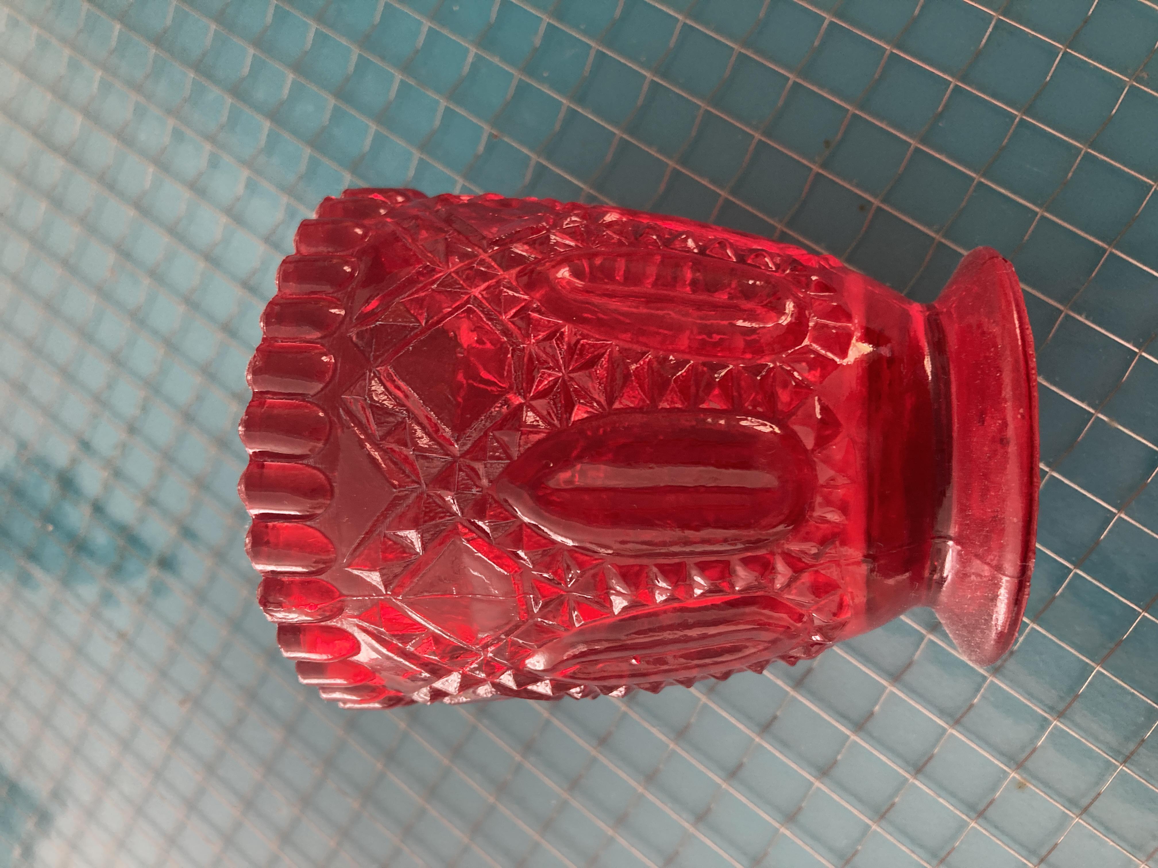 Teelichthalter rot tauschen
