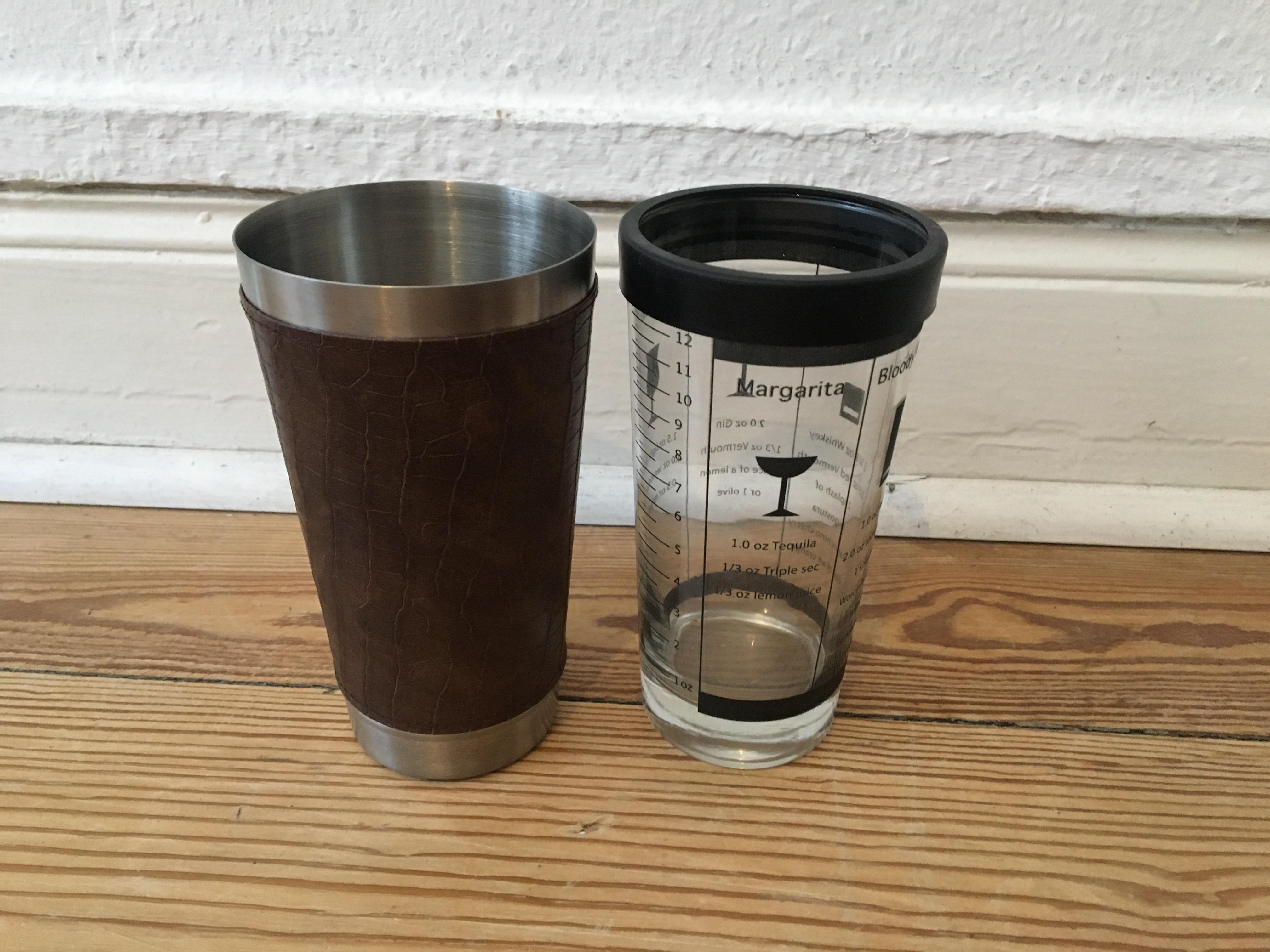 Cocktail Shaker tauschen