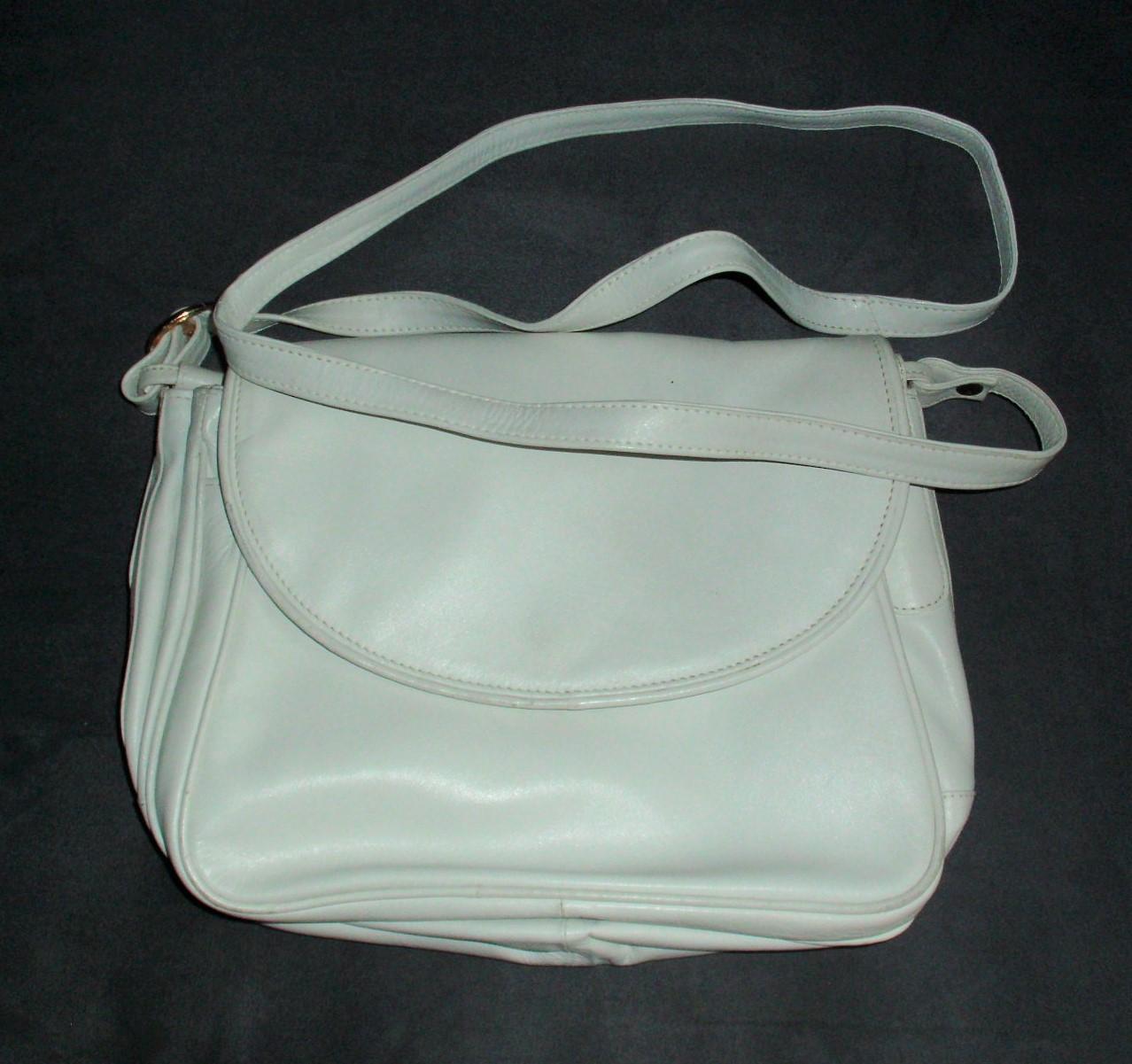 Handtasche weiss Linea Ancora tauschen