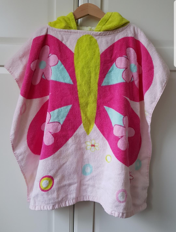 Badeponcho mit Kapuze Schmetterling tauschen