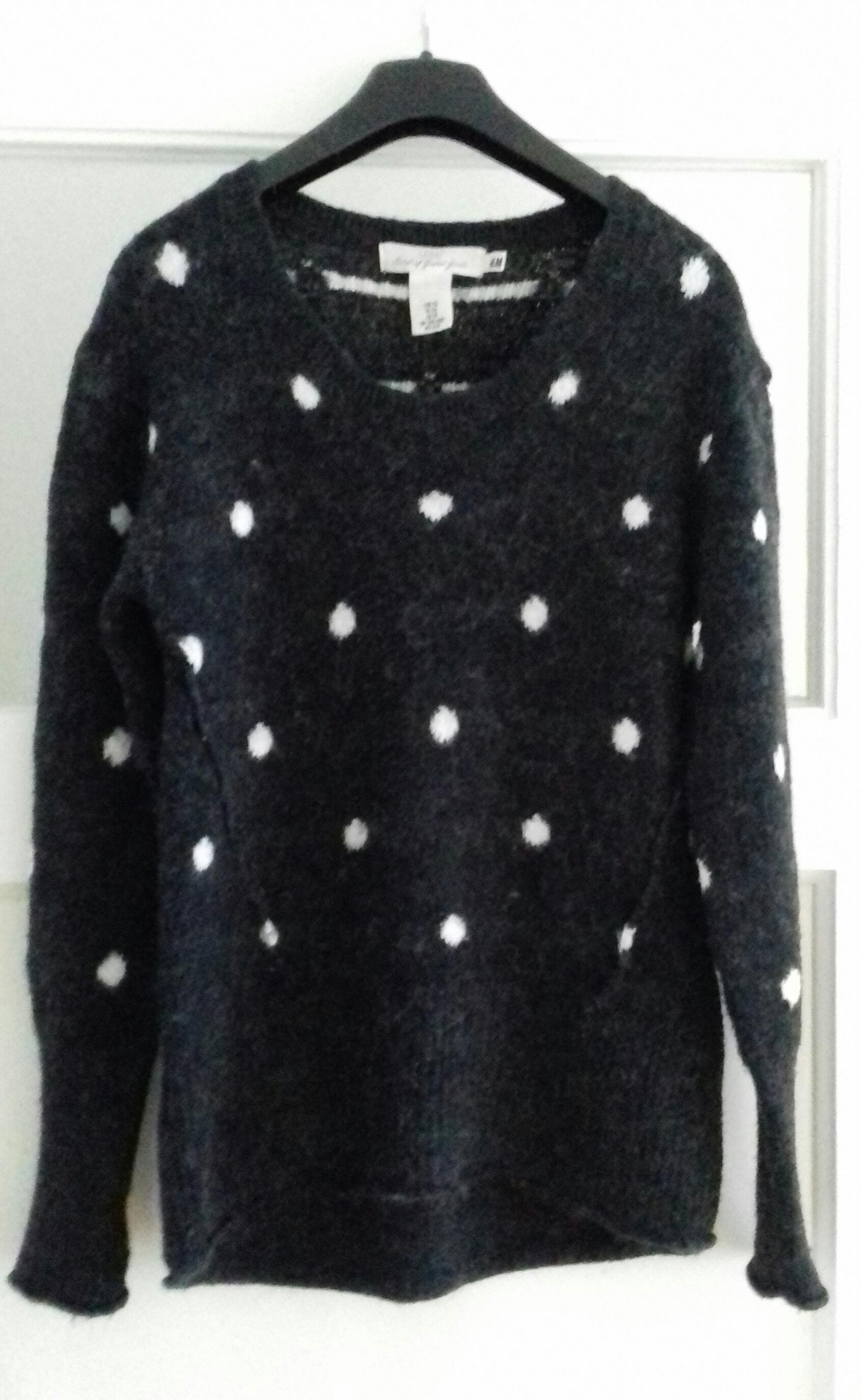 Damen Pullover grau/weiß XS tauschen