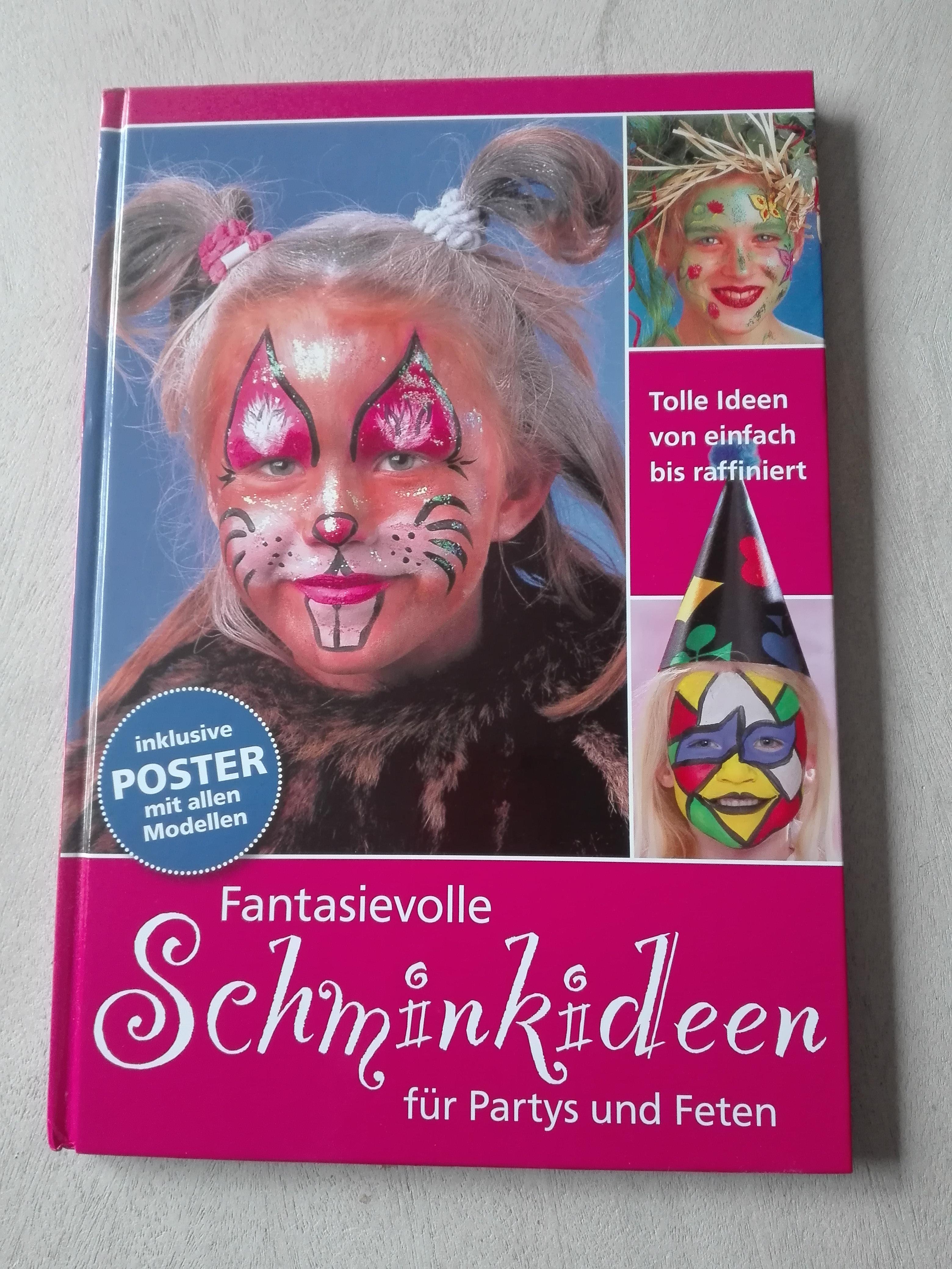 Schminkideen Fasching/Karneval tauschen