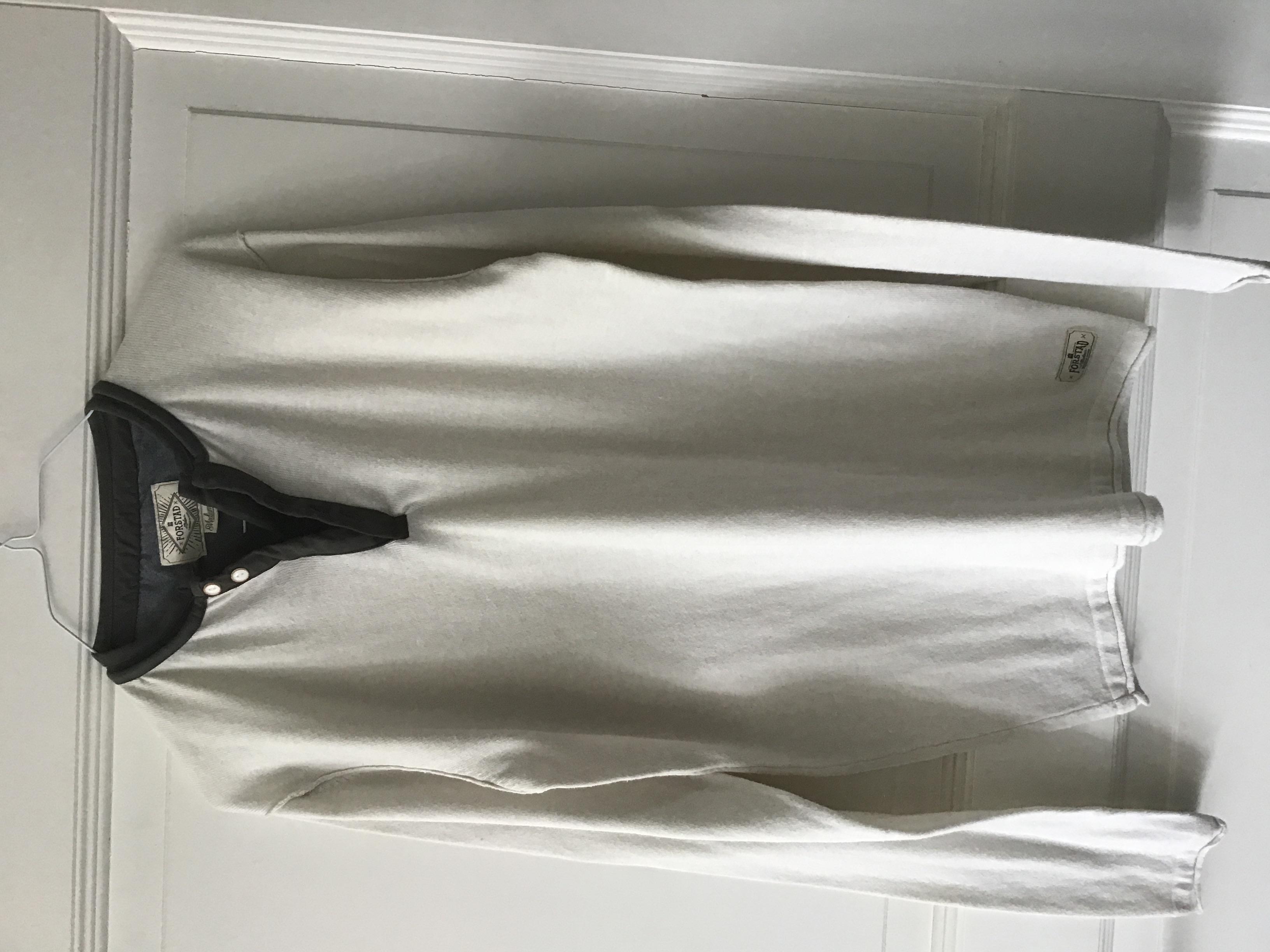 Herrenhemd Jersey M cremefarben  tauschen